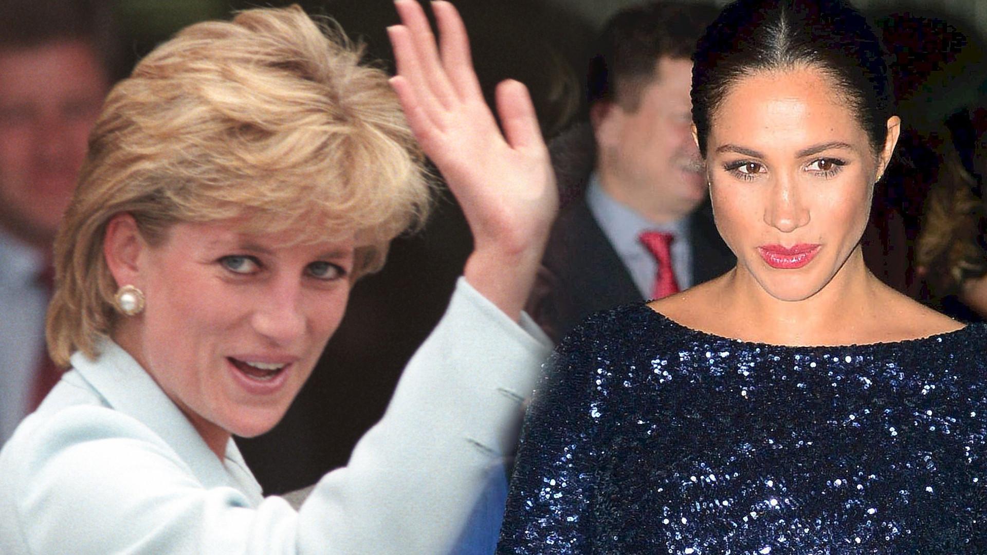 Meghan Markle i księżna Diana miały ten sam problem z królową Elżbietą