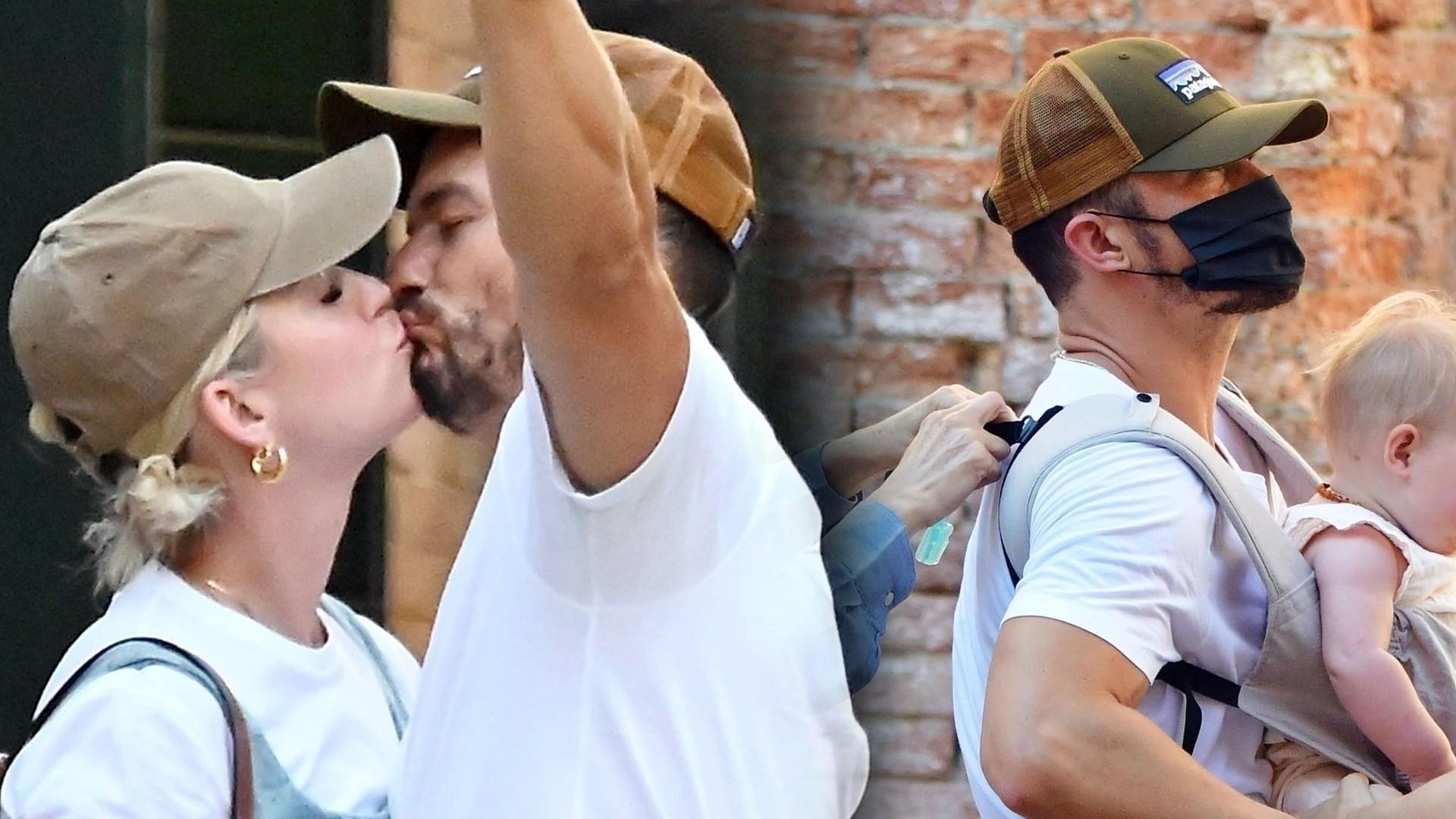 Katy Perry i Orlando Bloom z córeczką w Wenecji. Ale są zakochani! (ZDJĘCIA)