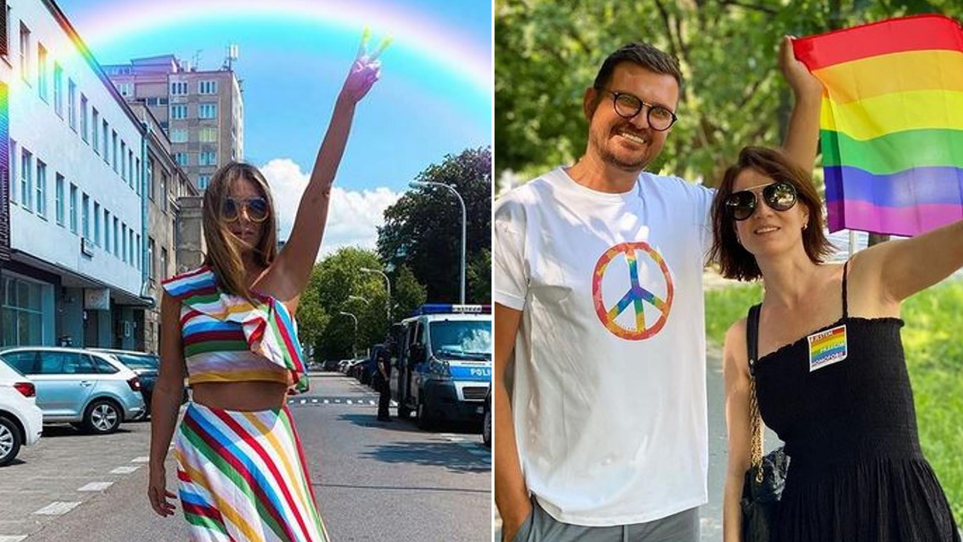 Gwiazdy wspierają Paradę Równości i LGBT: Małgorzata Rozenek, Natalia Nykiel, Maffashion