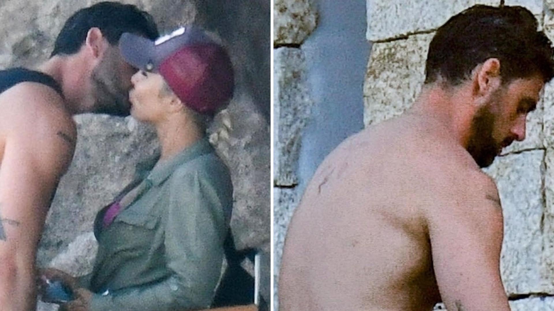 """Ekipa """"365 dni"""" przyłapana we Włoszech. Michele Morrone kręci erotyczną scenę (ZDJĘCIA)"""