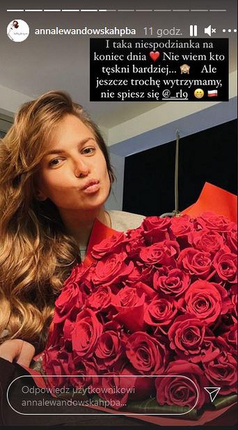Anna Lewandowska pochwaliła się prezentem od Roberta