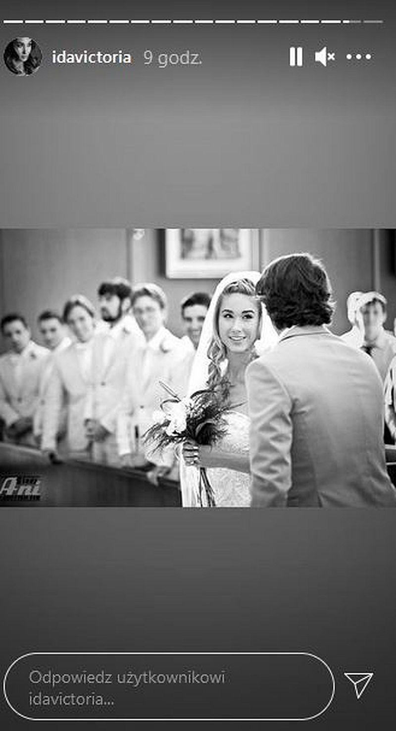 Ida Nowakowska pokazała zdjęcia ze ślubu