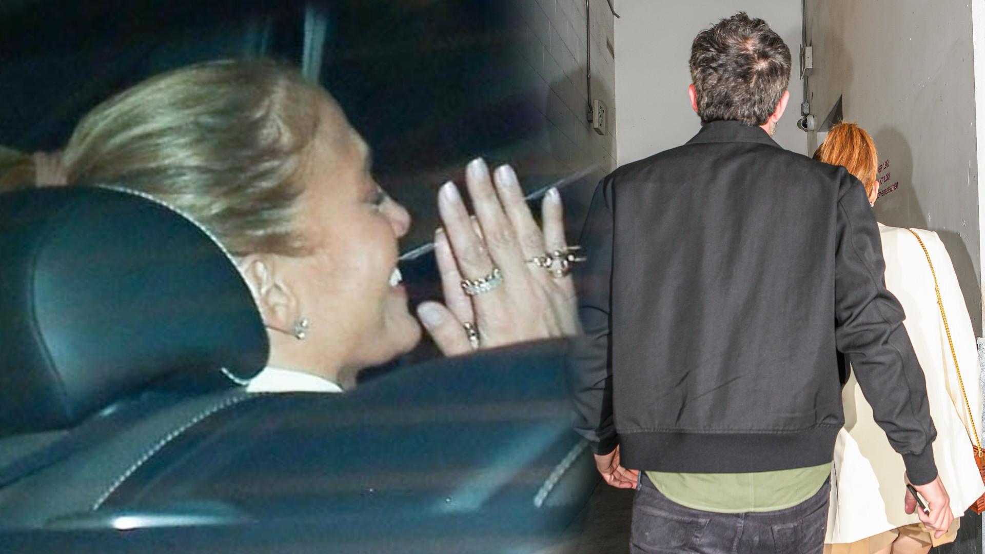 Roześmiana Jennifer Lopez na kolejnej randce z Benem. Odsłoniła nogi w kusych szortach (ZDJĘCIA)