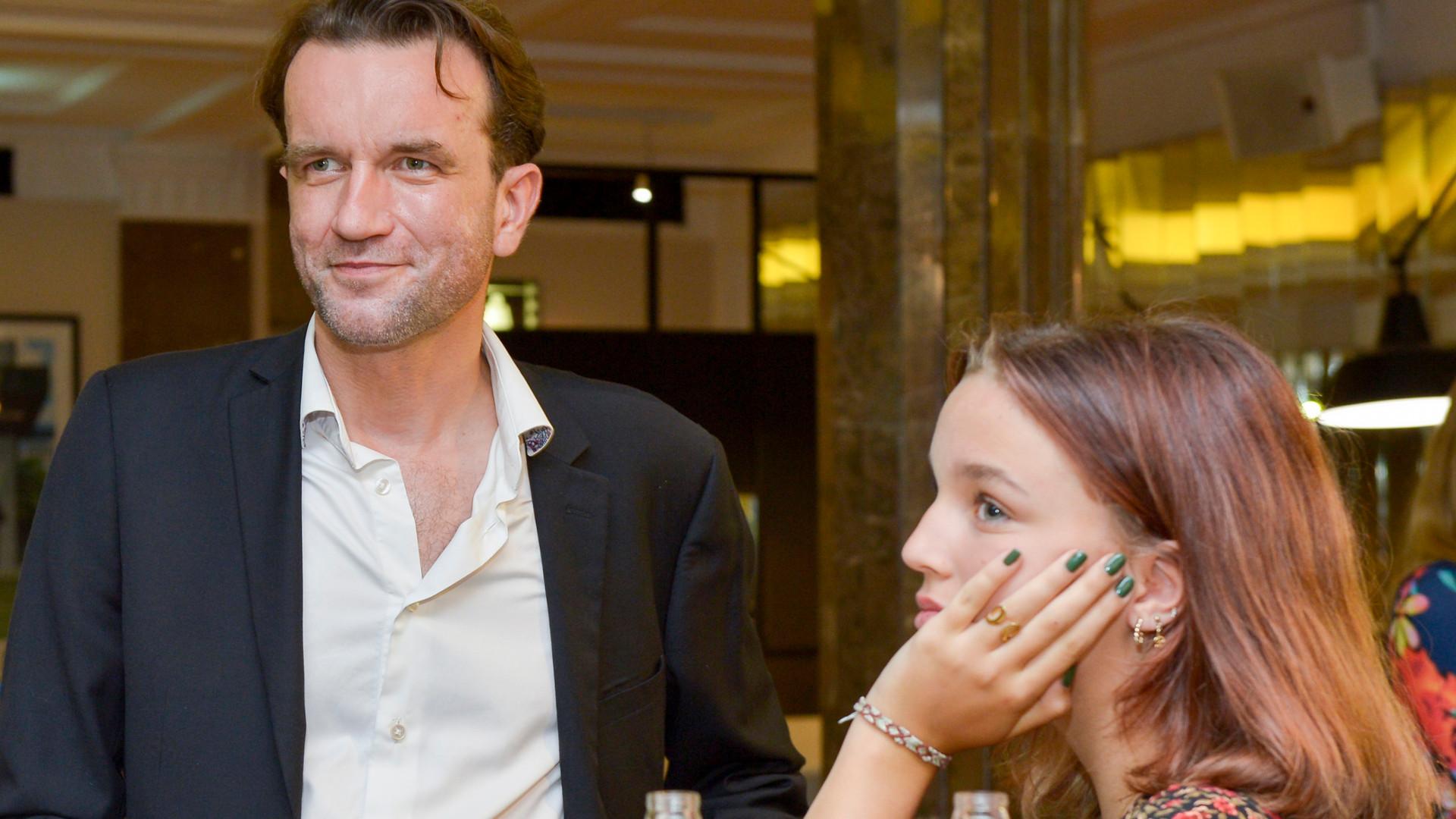 Tomasz Kot zabrał córkę na premierę filmu. Blanka ma już 14 lat (ZDJĘCIA)