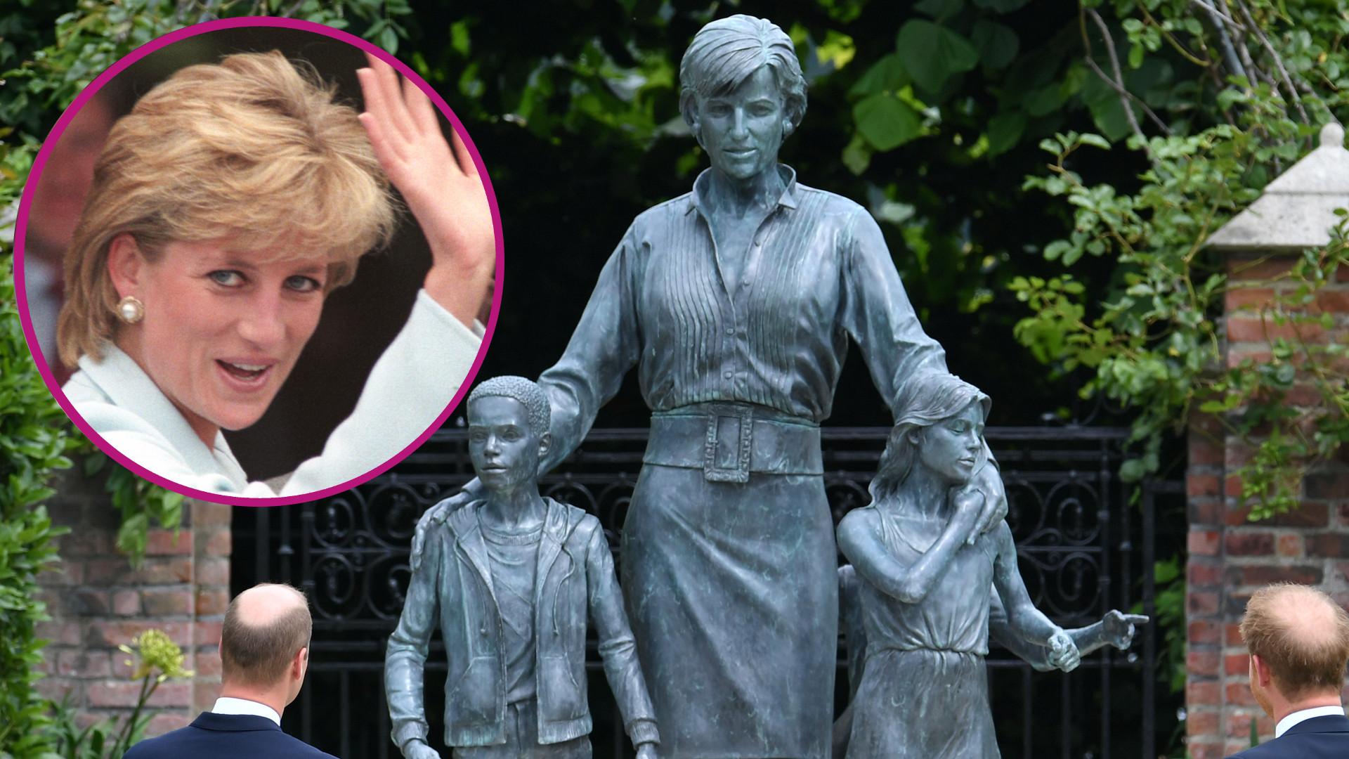 """Internauci MIAŻDŻĄ pomnik księżnej Diany: """"Ona tak nie wyglądała"""""""