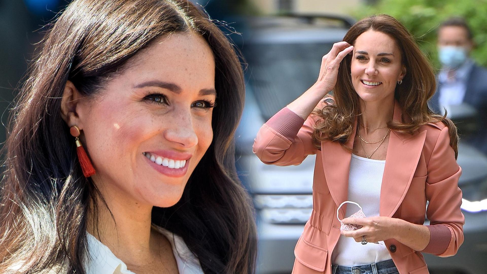 Księżna Kate próbuje zbliżyć się do Meghan Markle. Tak nakazuje jej PAŁAC