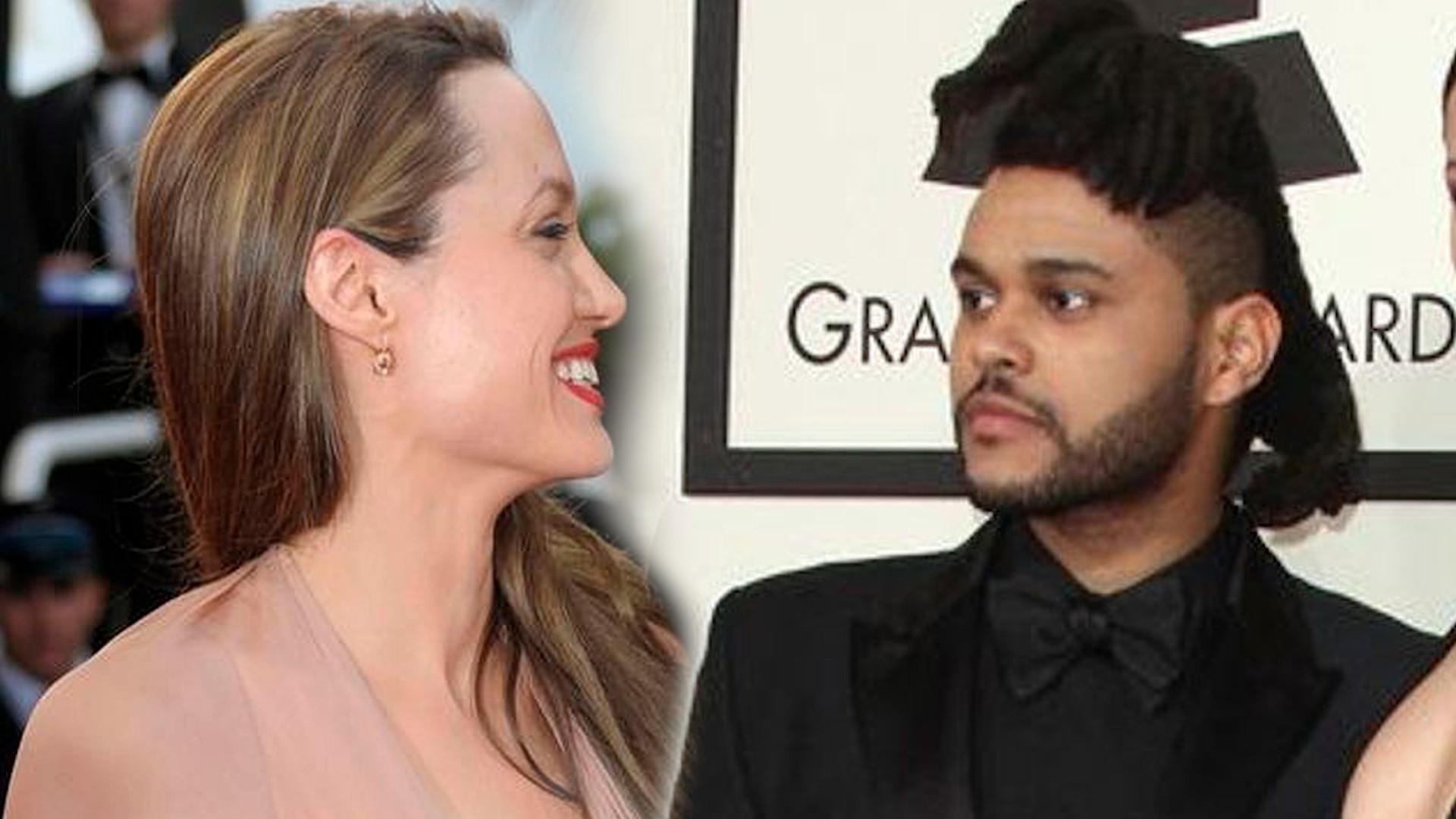 OMG! Angelina Jolie spotyka się z The Weekndem?