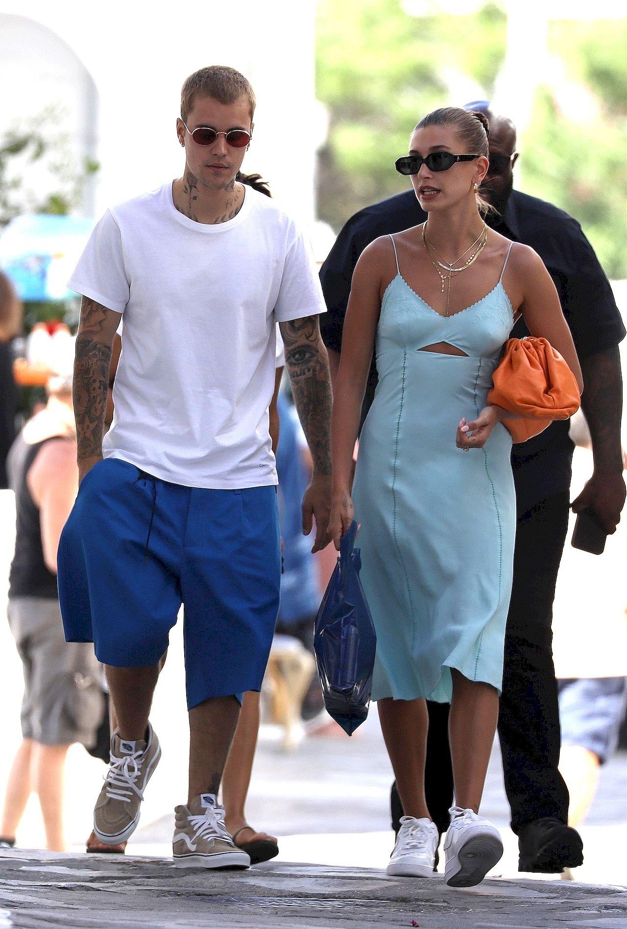 Justin Bieber i Hailey na Mykonos