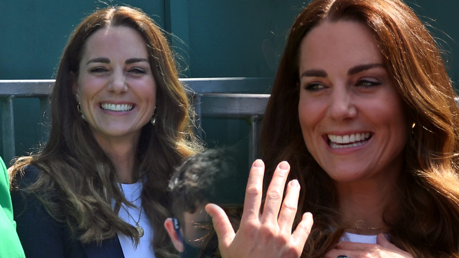 Księżna Kate pojawiła się na Wimbledonie. Już wiemy, że na punkcie tej spódnicy OSZALEJĄ jej fanki (ZDJĘCIA)