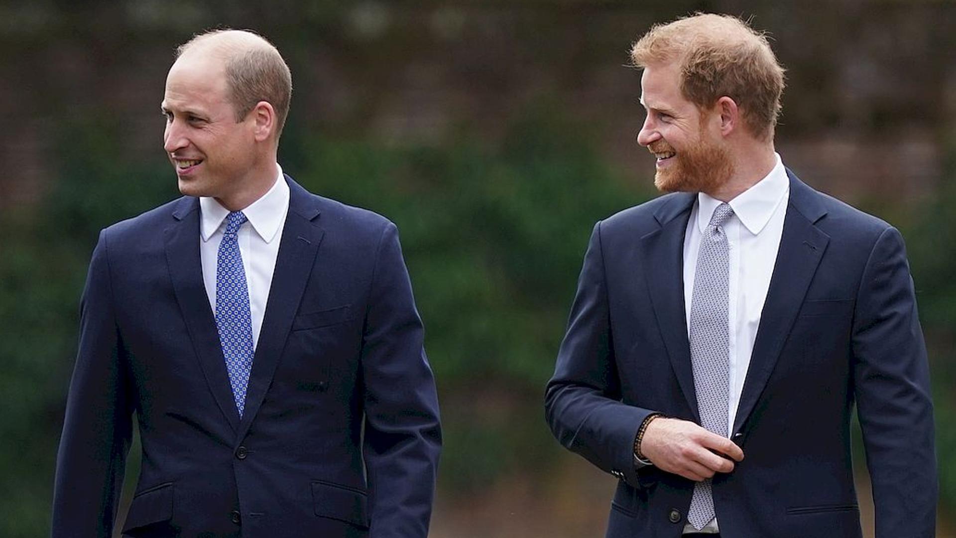 Książę William nadal cierpi z powodu księcia Harry'ego