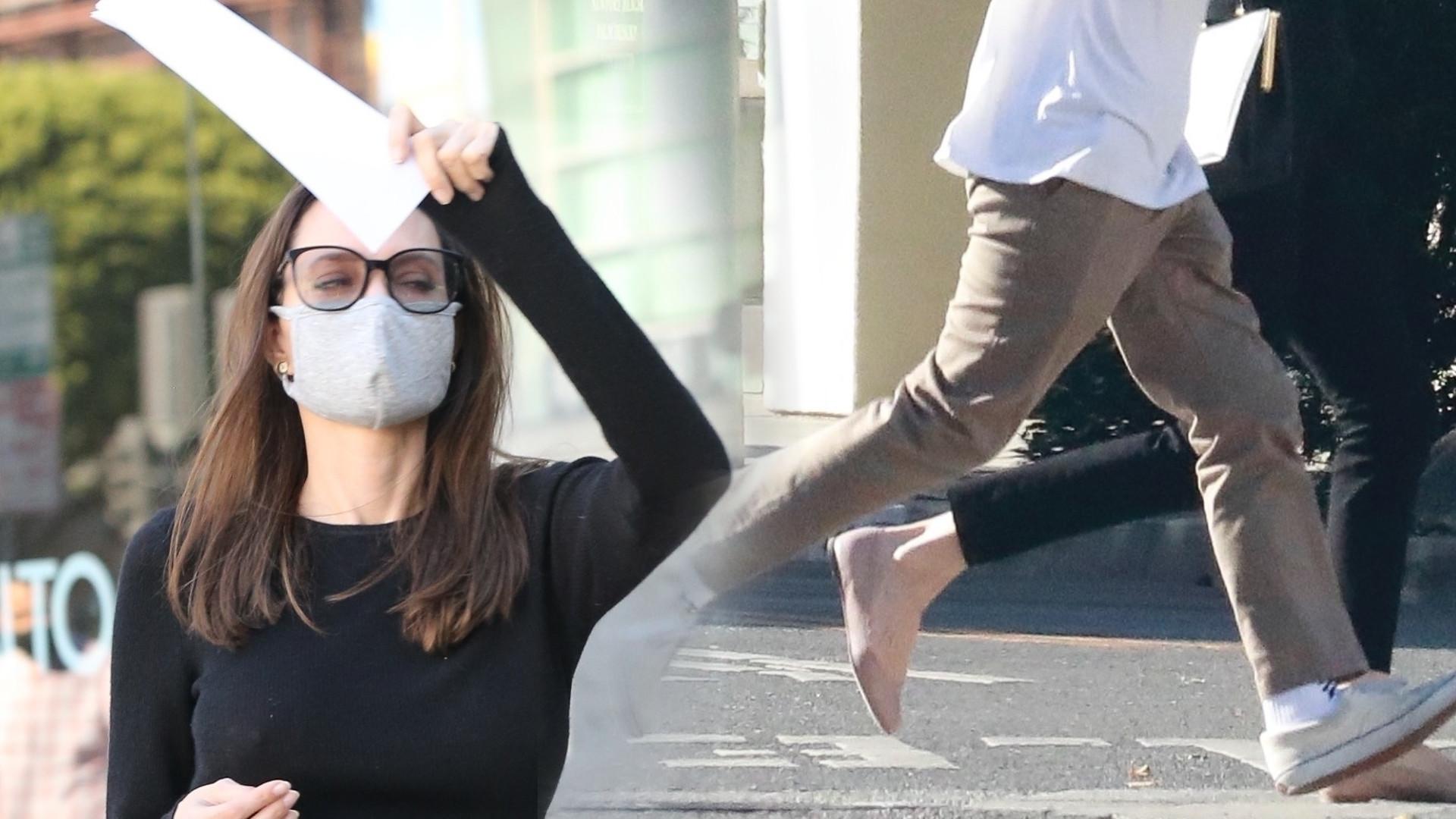Angelina Jolie z 17-letnim synem w sklepie meblowym. Dokąd się tak spieszyli?