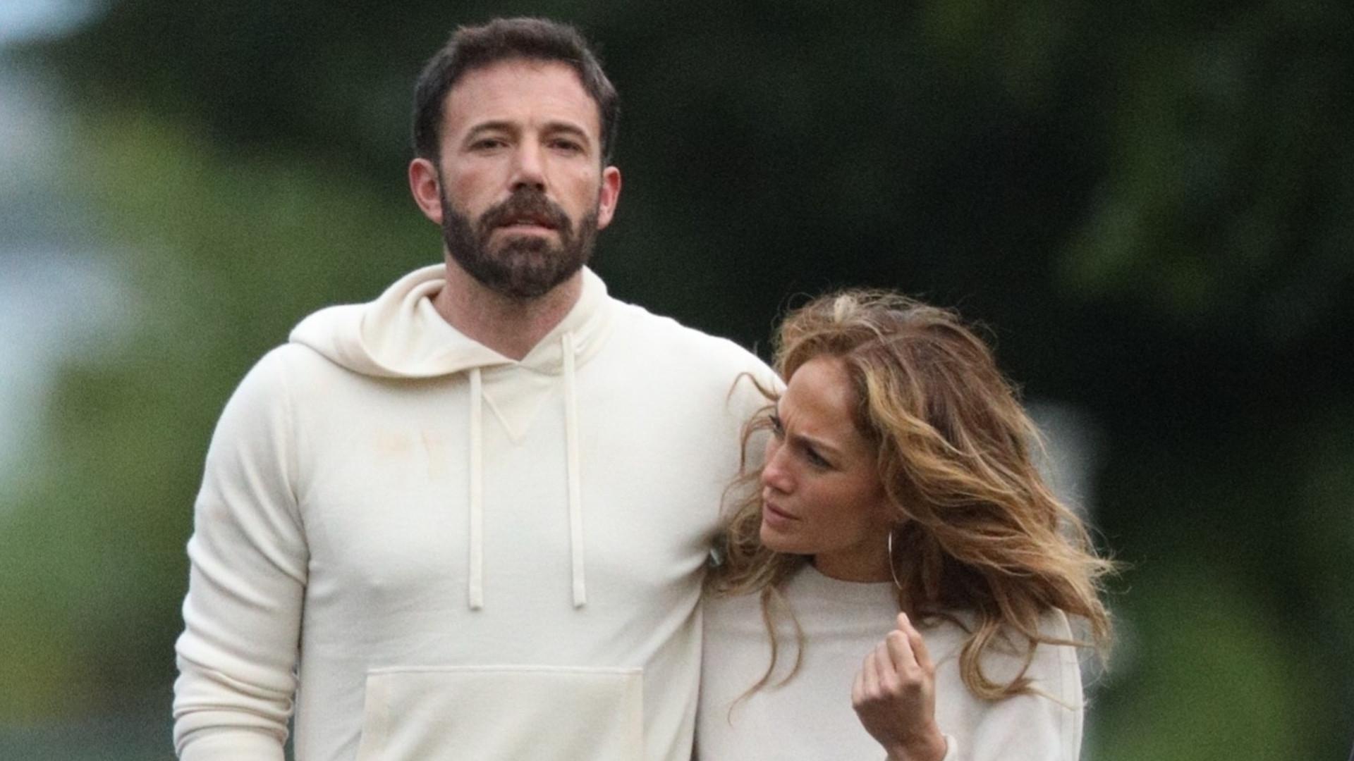 J.Lo została zapytana o związek z Benem Affleckiem w telewizji na żywo
