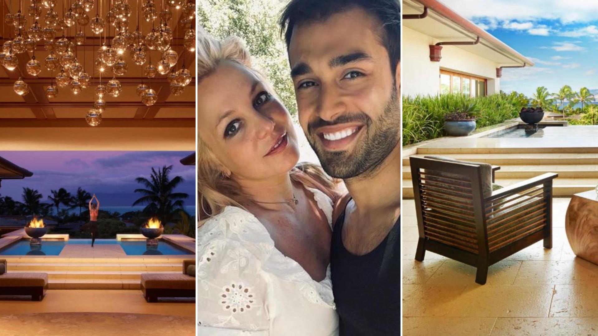To tutaj Britney Spears spędzała wakacje z chłopakiem. Pławią się w luksusach (ZDJĘCIA)