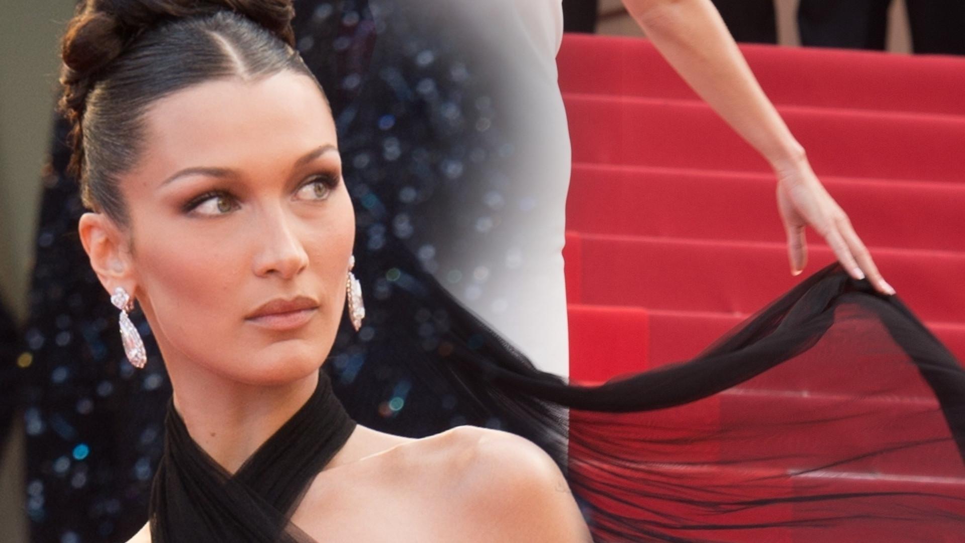 Bella Hadid zaskoczyła kreacją w Cannes. Widzieliśmy ją już prawie 20 lat temu! (ZDJĘCIA)