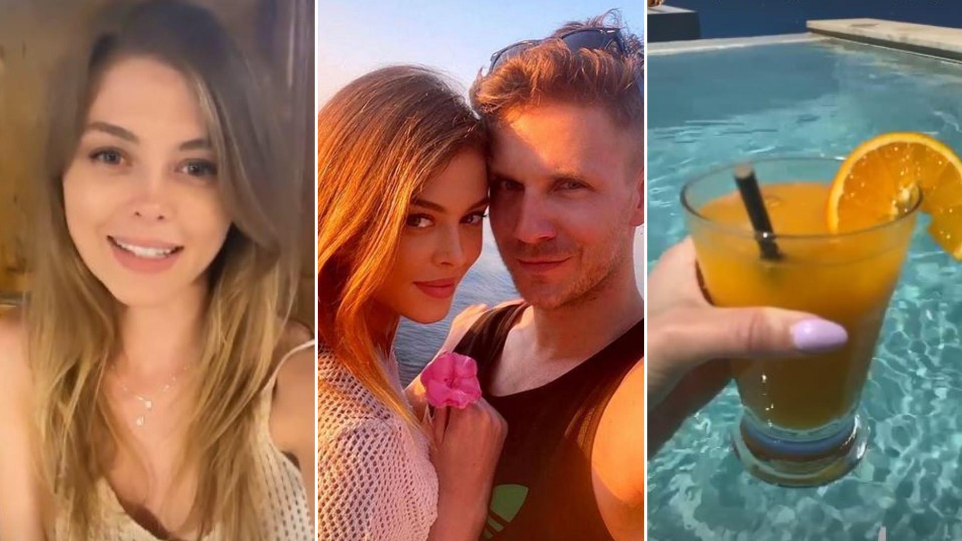 """Joanna Opozda i Antek Królikowski są na wakacjach w Grecji. Fani: """"Dbaj o nią, nie wypuszczaj jej z rąk"""""""
