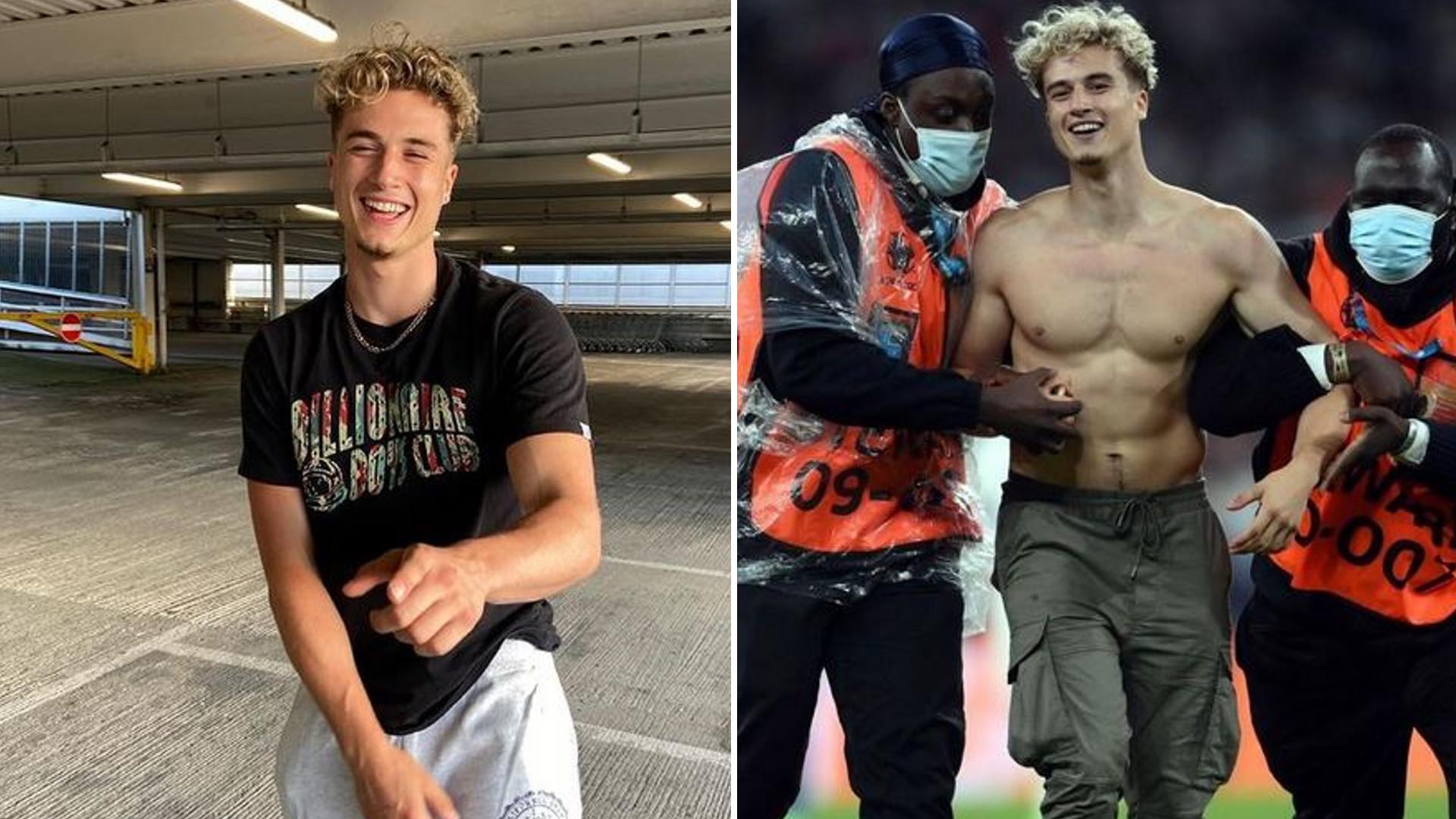 To brytyjski celebryta wtargnął wczoraj na boisko podczas finału Euro 2020