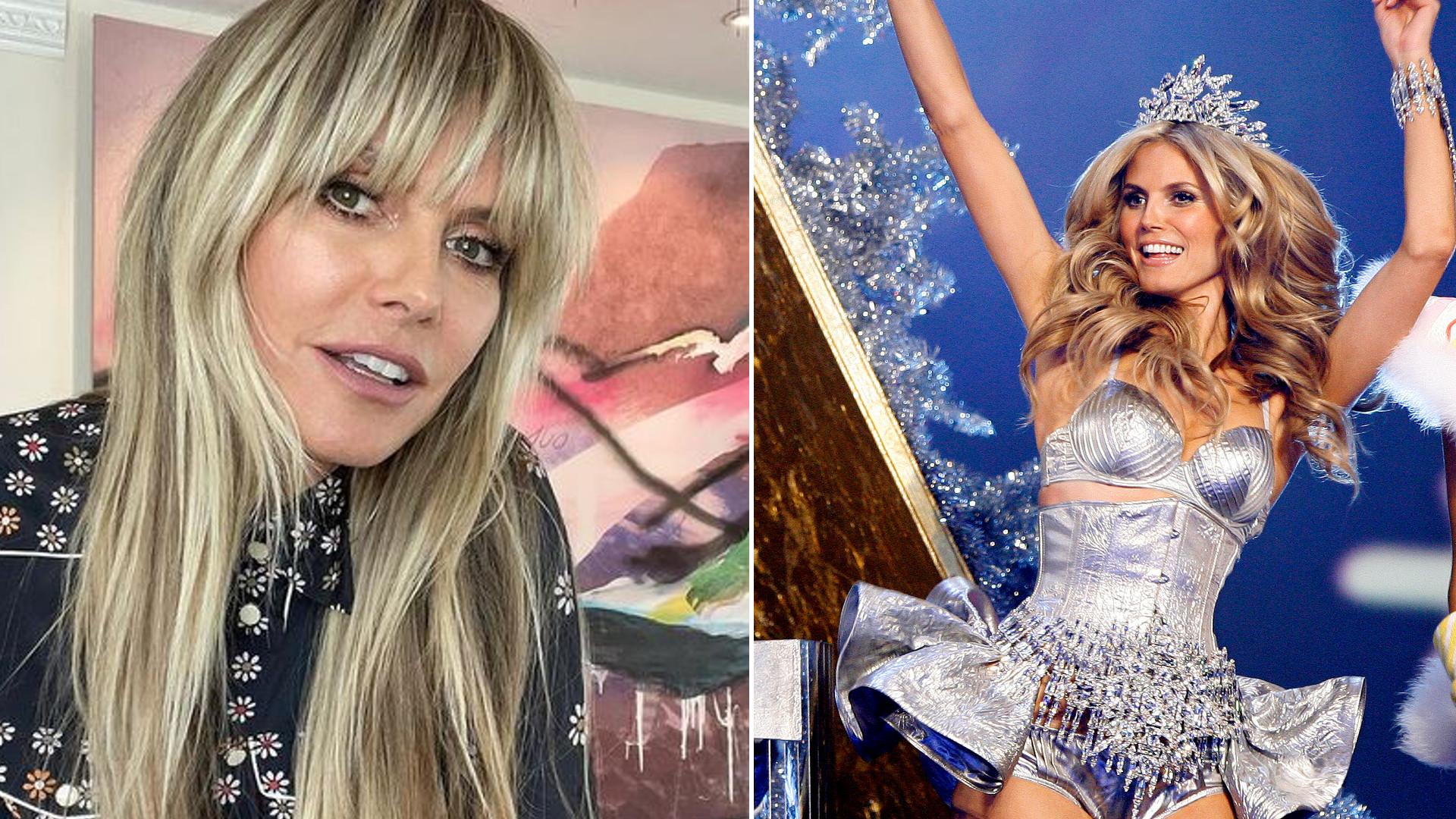 Heidi Klum też uderza w Victoria's Secret