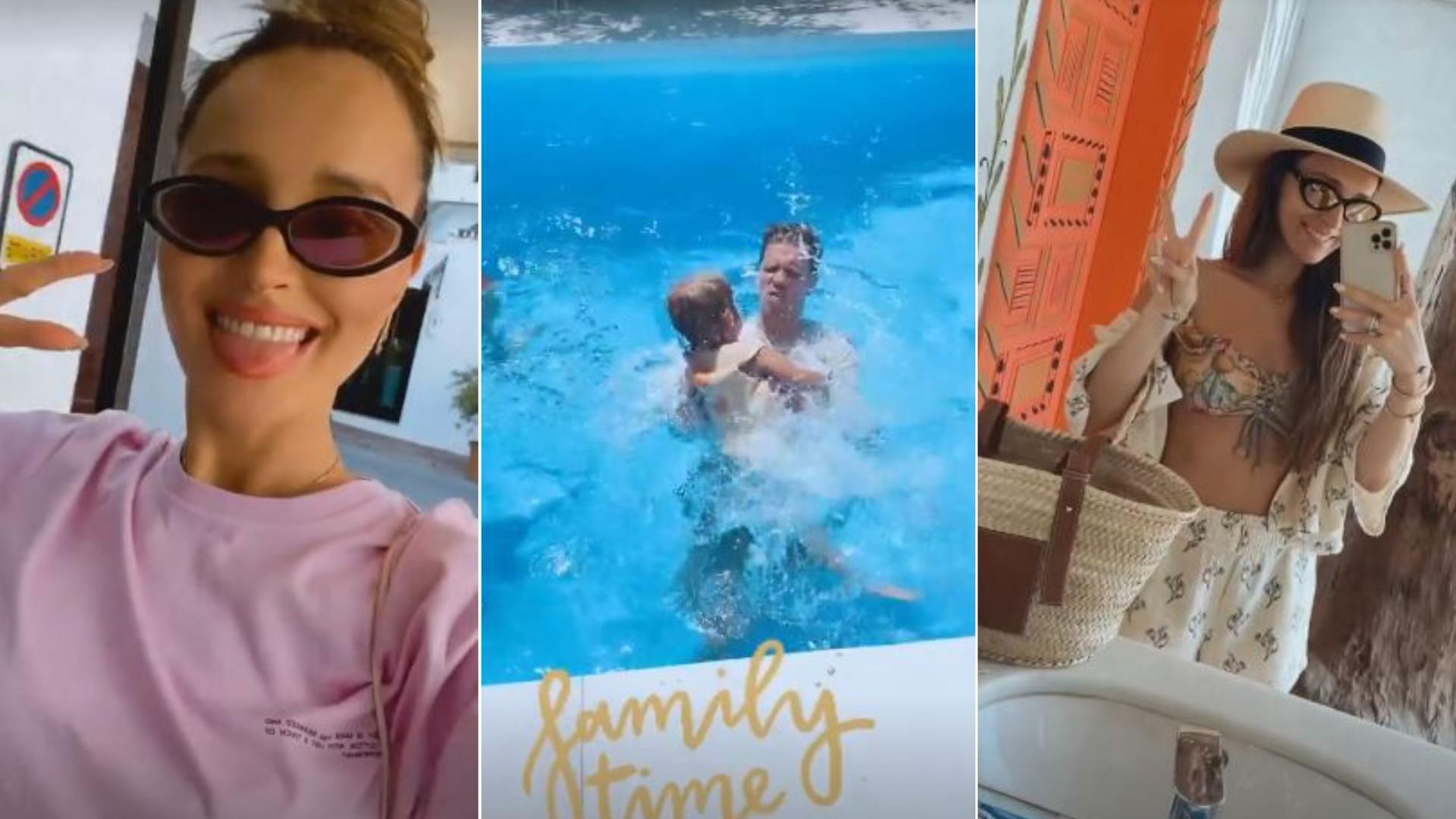 """Marina z rodziną na kolejnych wakacjach: """"Mamy jeszcze 2 tygodnie wakacji – wybaczcie"""""""