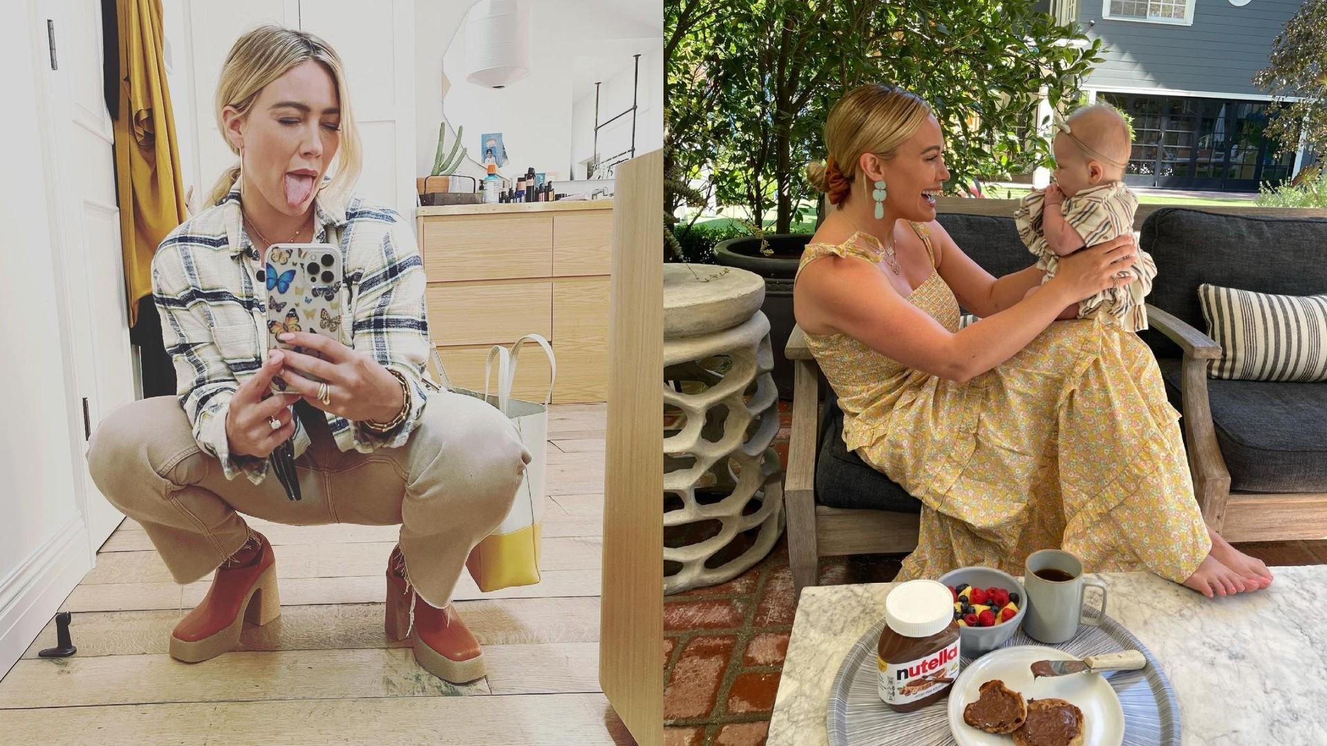 Hilary Duff udostępniła zdjęcia z domowego porodu córki!