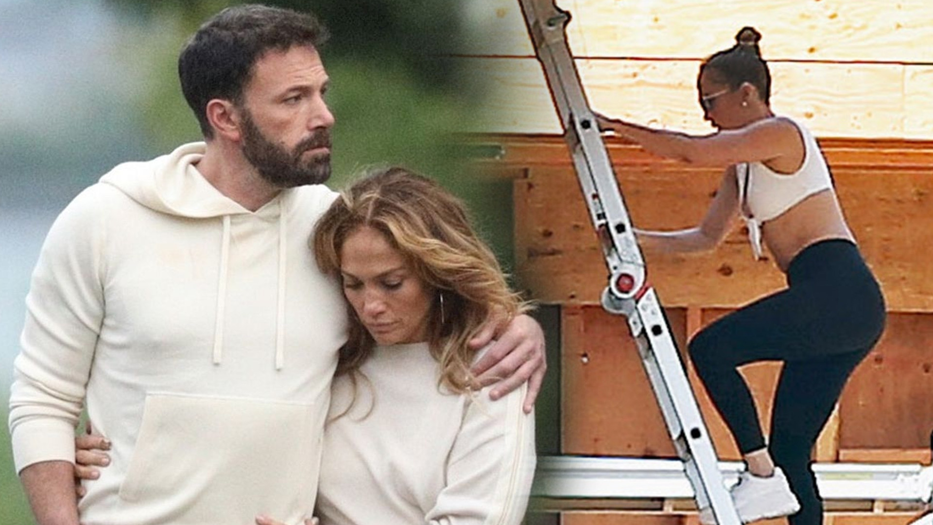 Oto nowy DOM Jennifer Lopez i Bena Afflecka? Jen odwiedziła budowę (ZDJĘCIA)