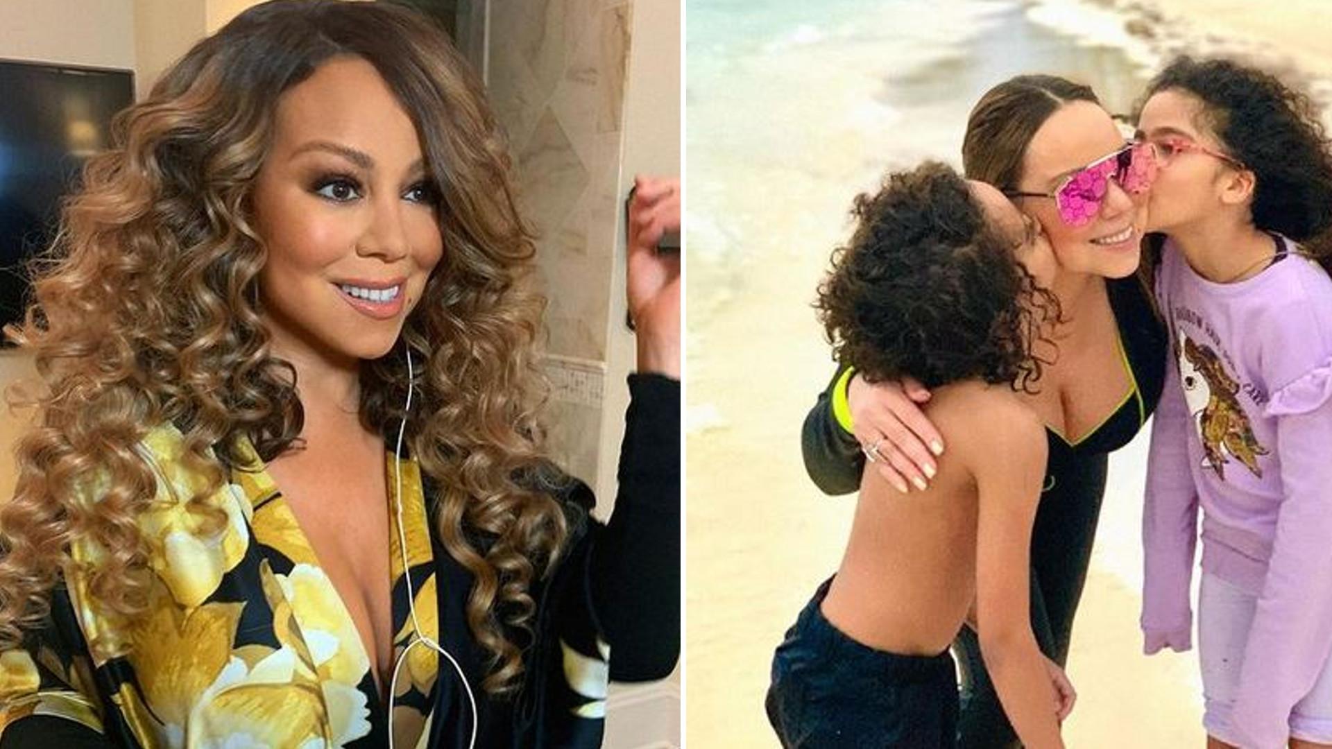 10-letnia córka Mariah Carey została modelką