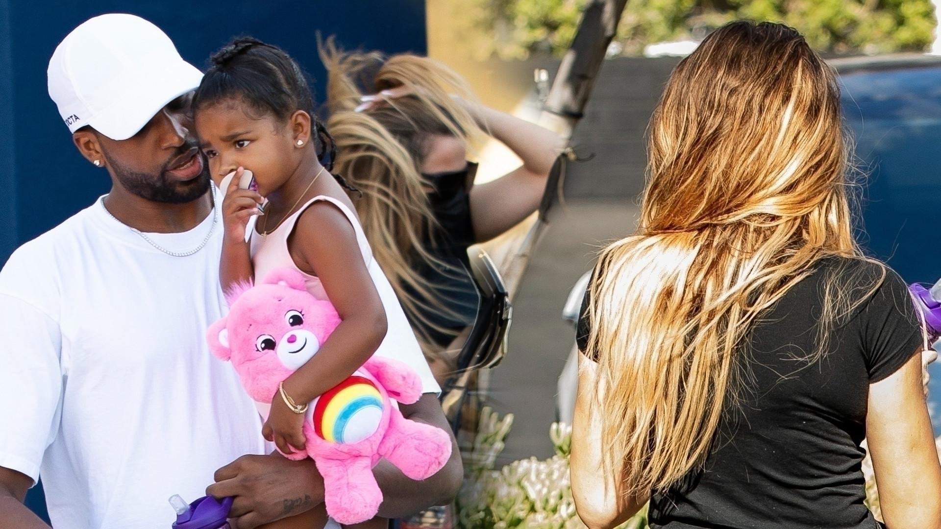 Khloe Kardashian i Tristan Thompson przyłapani razem kilka tygodni po rozstaniu (ZDJĘCIA)