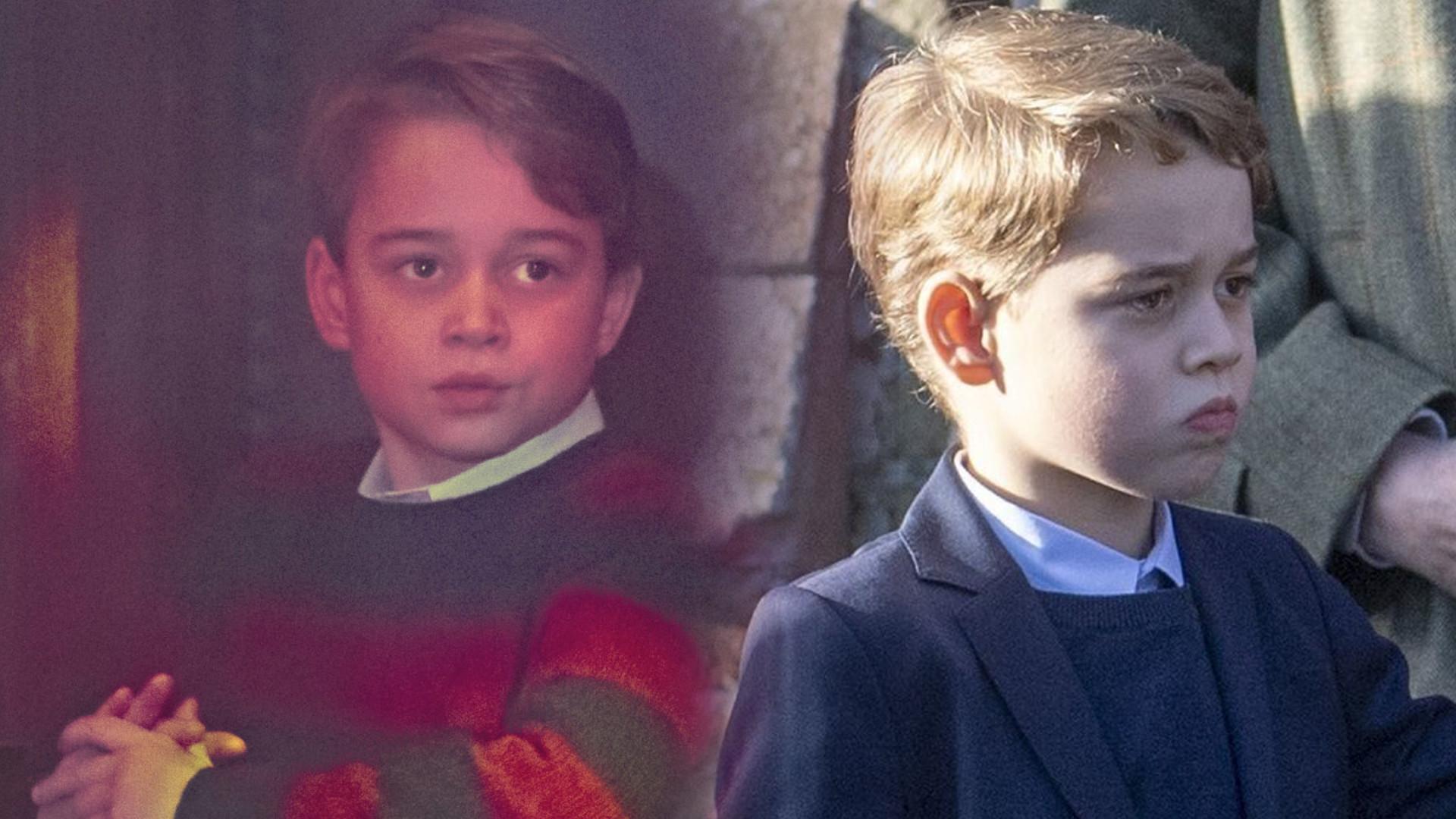 """Nowe zdjęcie roześmianego księcia George'a z okazji 8. urodzin: """"Wygląda jak TATA!"""""""