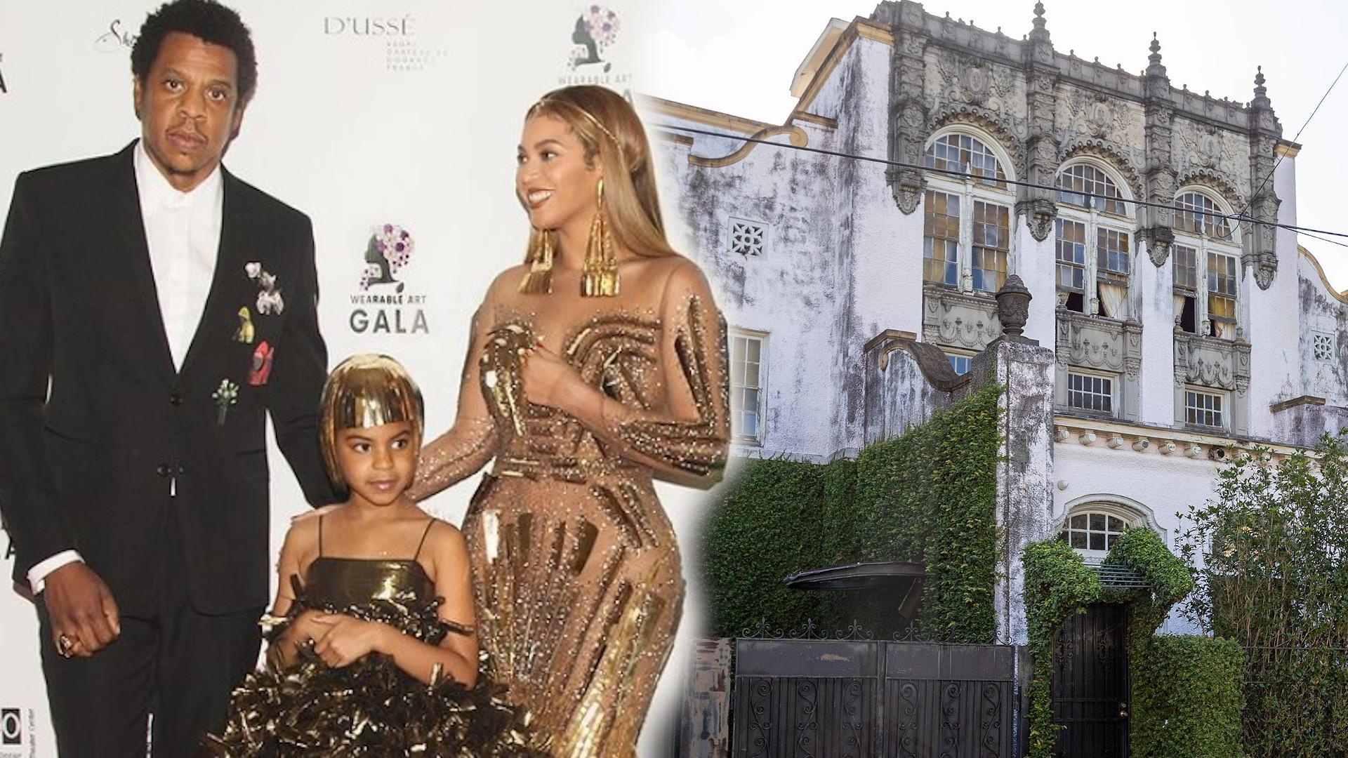 Podpalono dom Beyonce i Jay-Z (ZDJĘCIA)