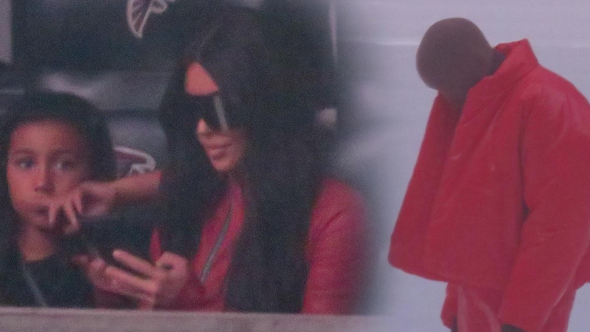 Kim Kardashian z dziećmi i Khloe wspiera Kanye Westa na promocji nowego albumu (ZDJĘCIA)