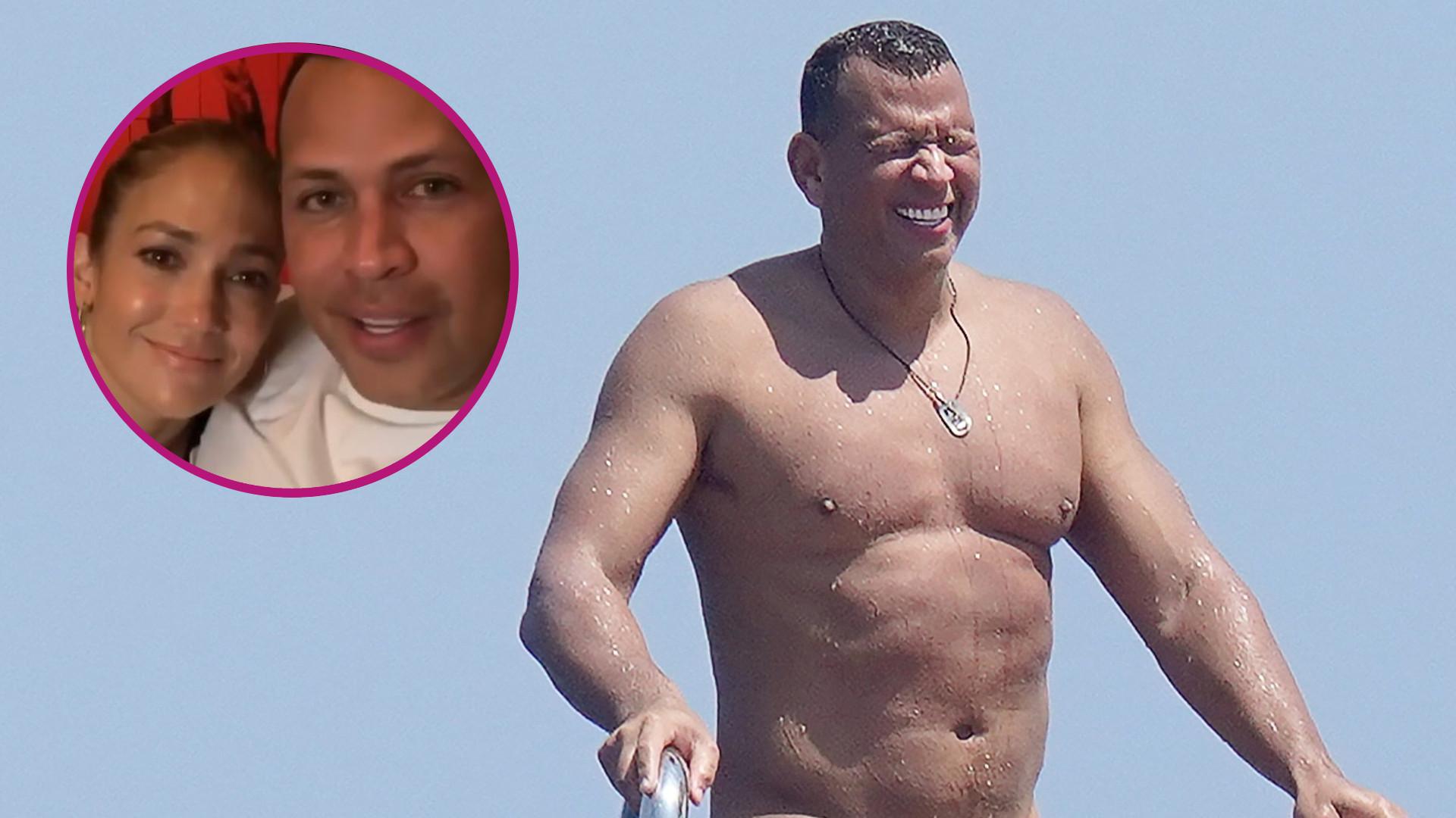 Alex Rodriguez PŁACZE po J.Lo?! Nic z tych rzeczy! Zobaczcie, co wyprawiał na jachcie (ZDJĘCIA)