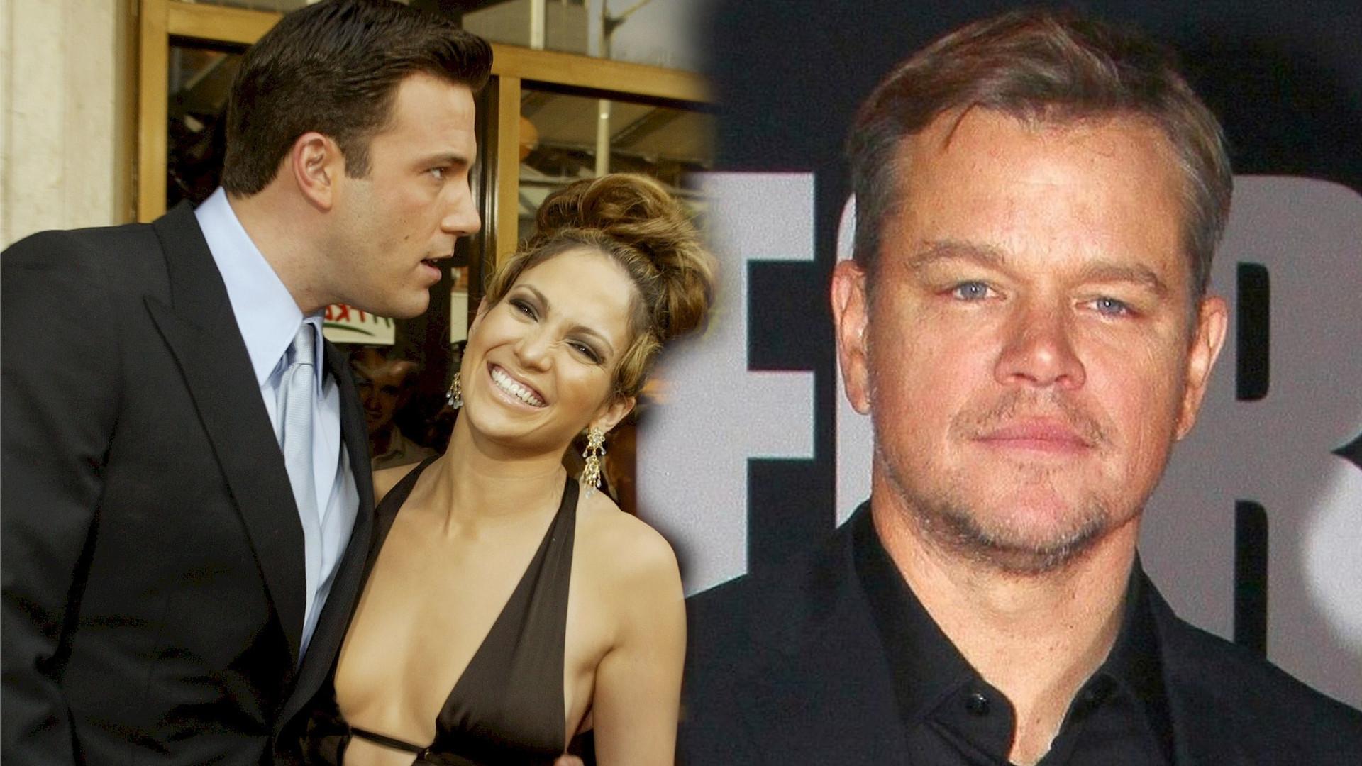 Matt Damon pierwszy raz o związku Bena i Jennifer