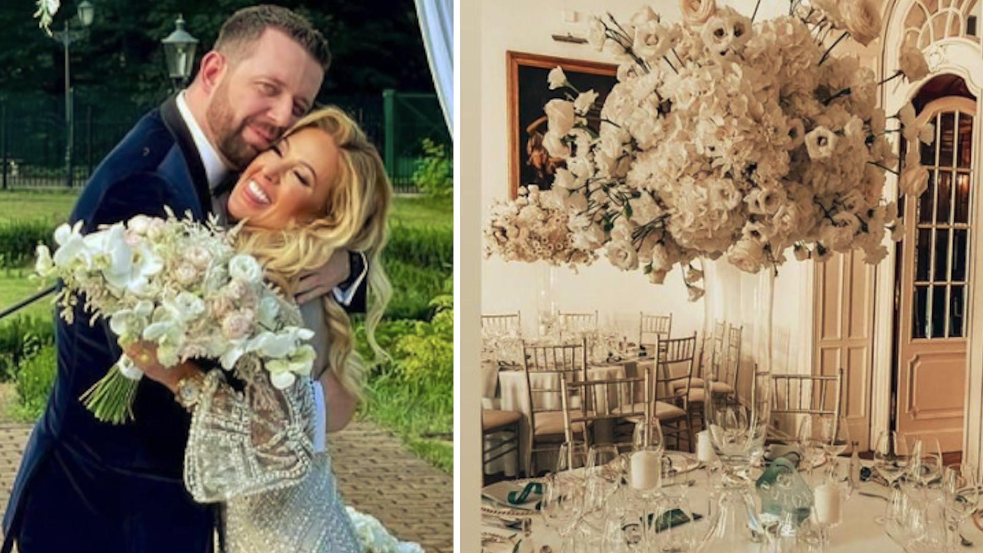 Sylwia Peretti wzięła ślub w ZAMKU