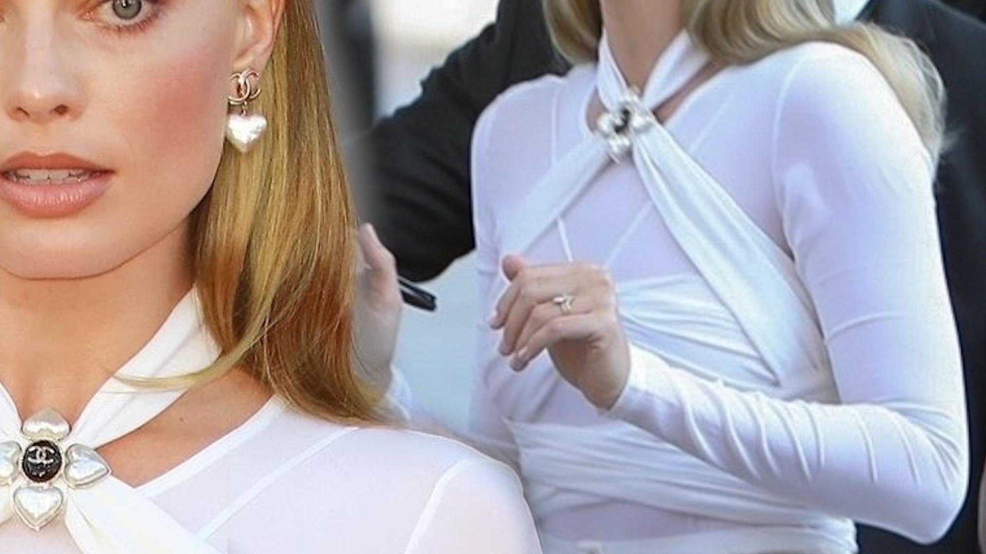 """Stylowa Margot Robbie na premierze filmu  """"The Suicide Squad"""". Ten kostium od Chanel skradł show"""