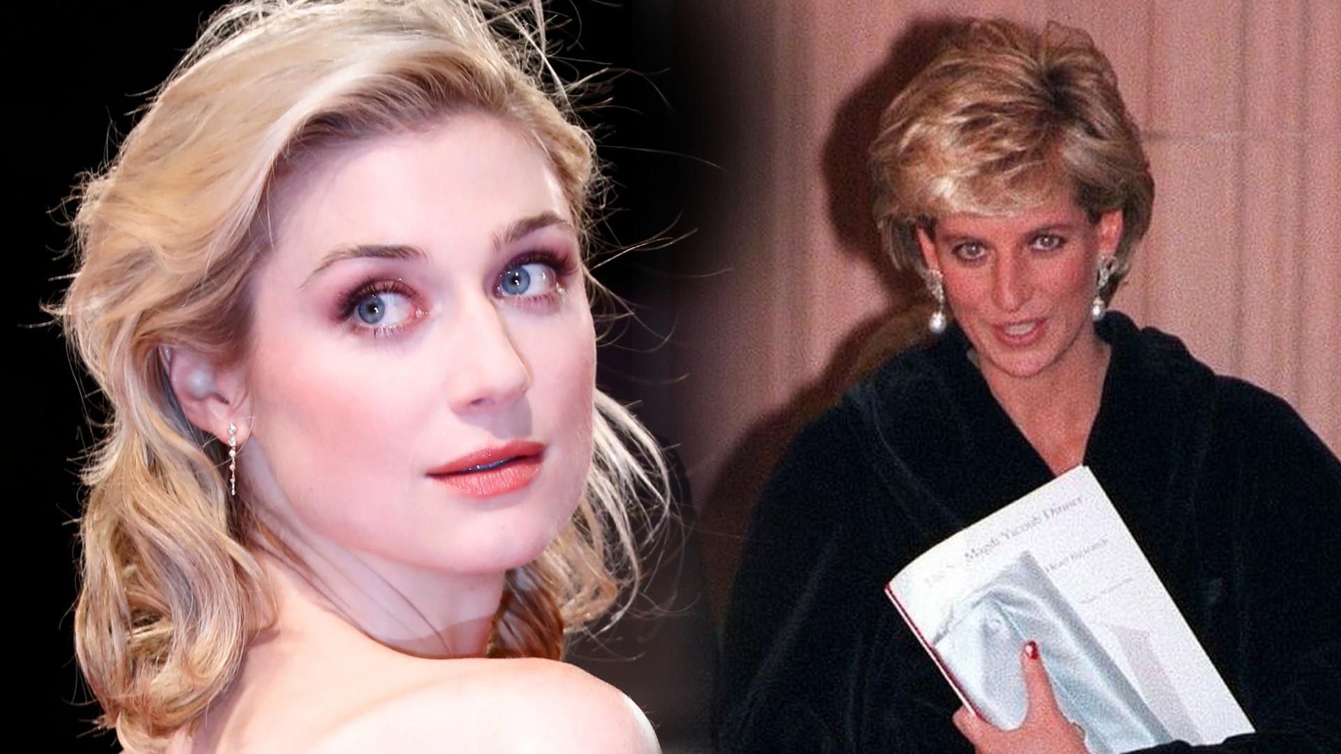 Są już pierwsze zdjęcia Elizabeth Debicki jako księżnej Diany