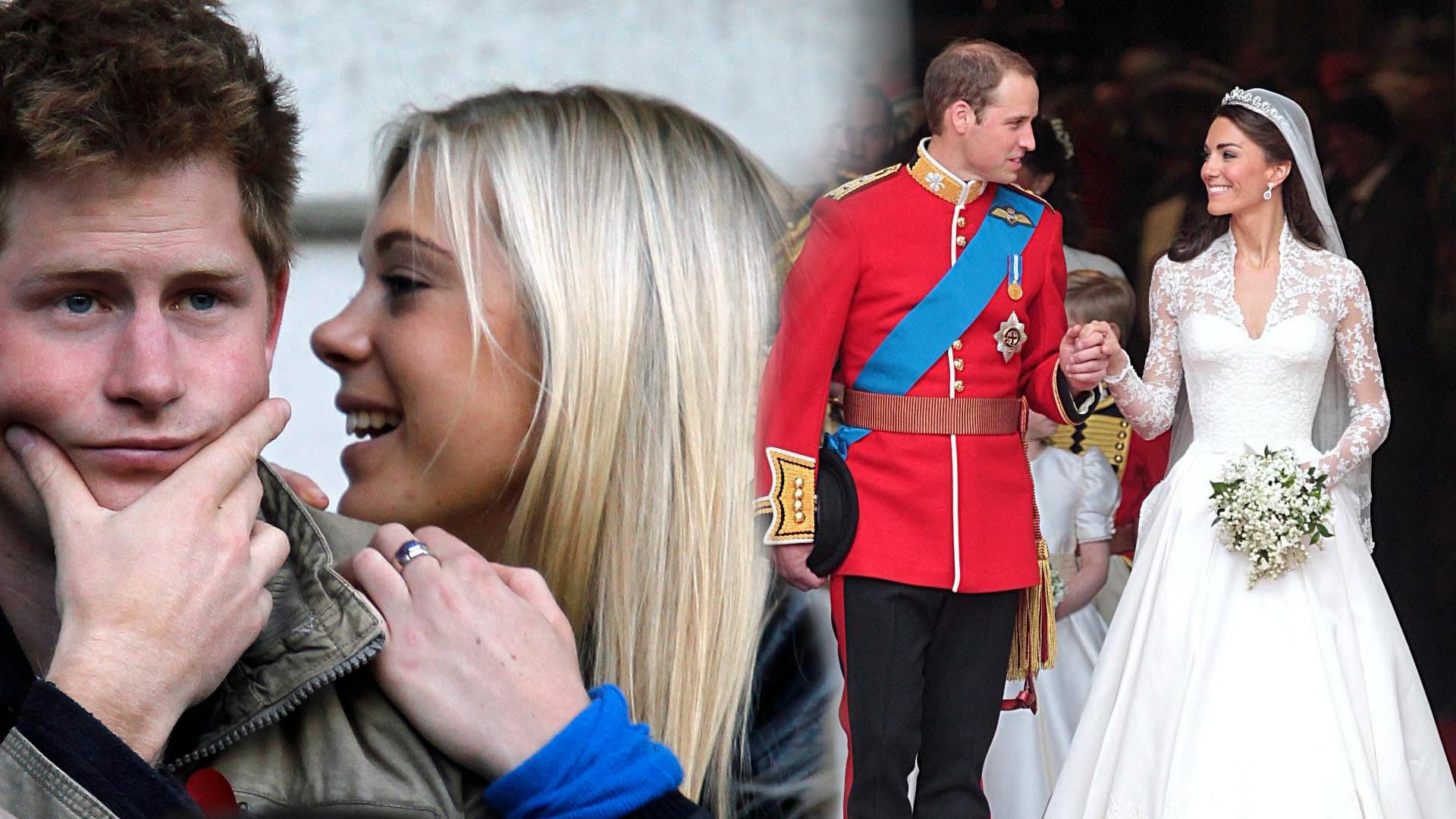 Była dziewczyna księcia Harry'ego postanowiła od niego odejść po tym, co zobaczyła na ślubie Kate i Williama