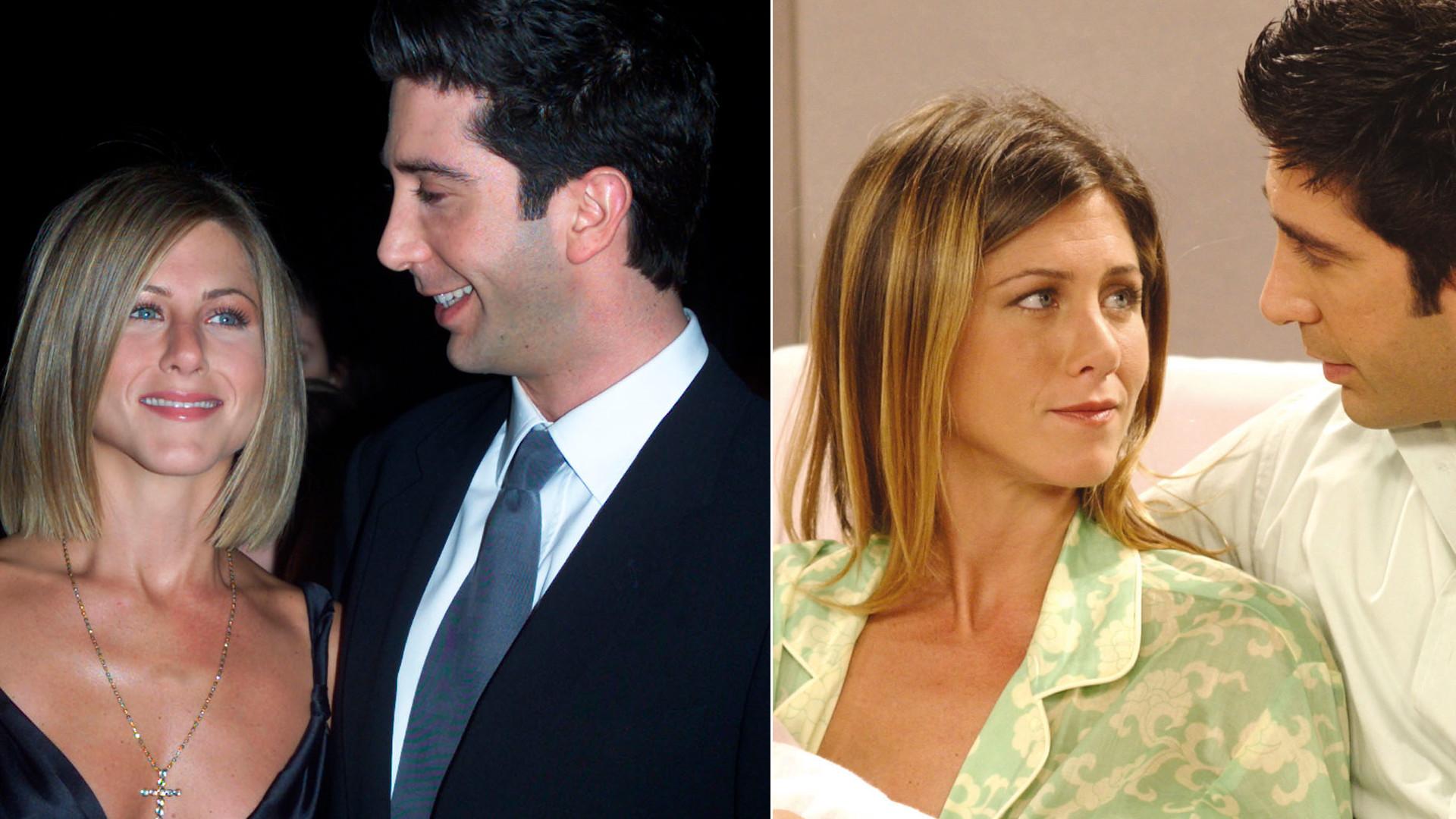 """Fani """"Przyjaciół"""" OSZALEJĄ. Jennifer Aniston i David Schwimmer spotykają się!"""