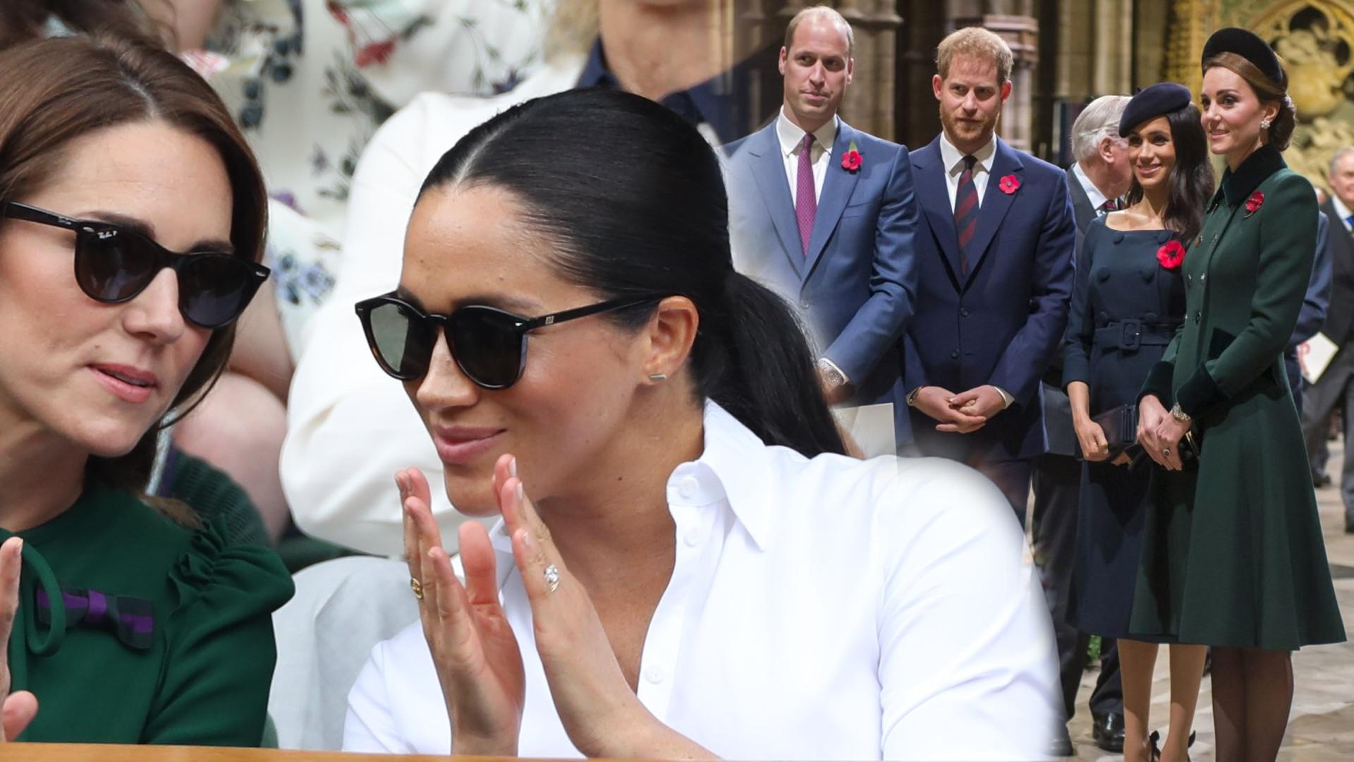 Meghan Markle i księżna Kate stworzą wspólny projekt. Piękny gest żony Harry'ego