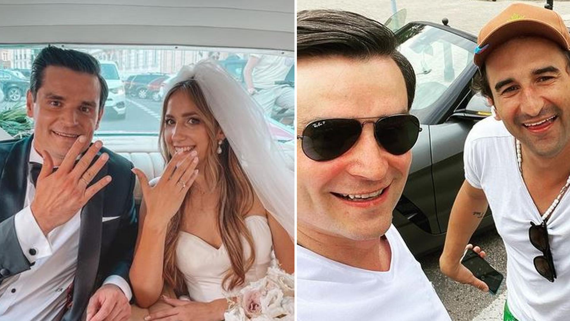 Wokalistka Arki Noego wzięła ślub! Misiek Koterski był świadkiem