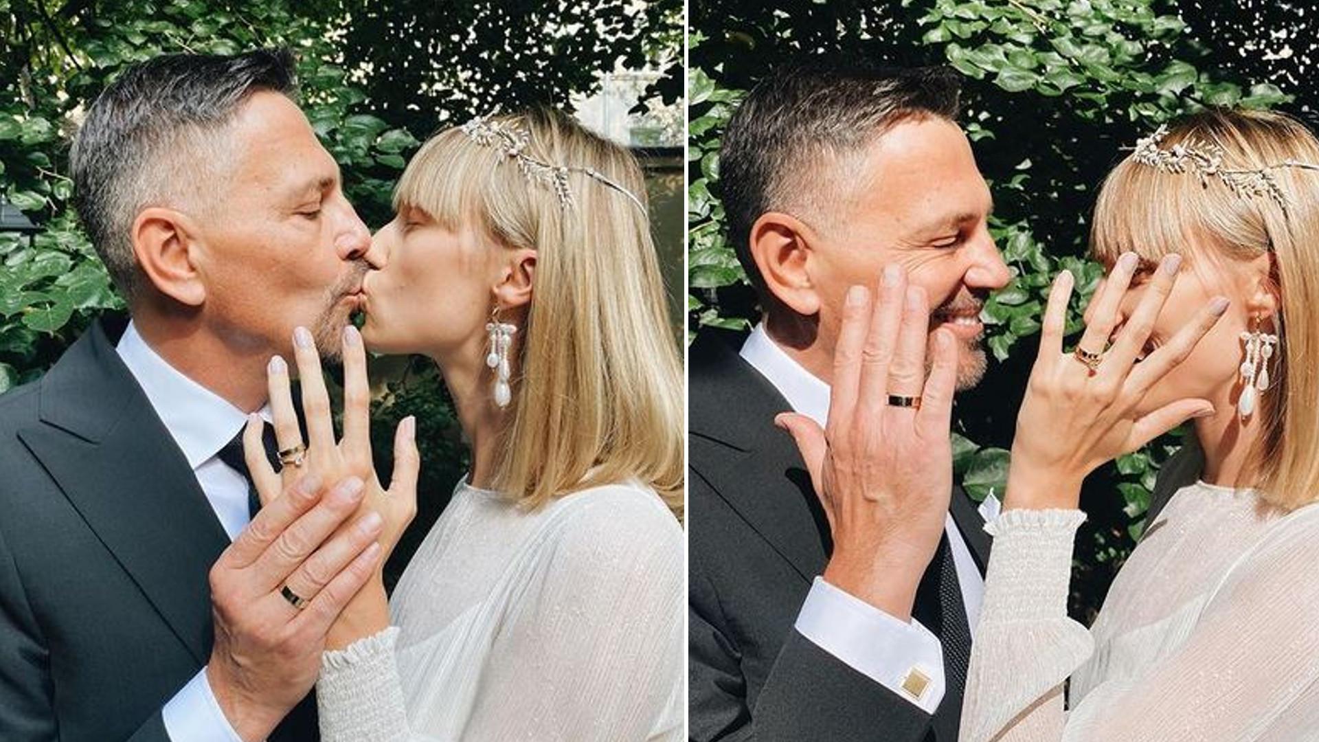 Krzysztof Ibisz z nową żoną spędza urlop na rajskiej wyspie