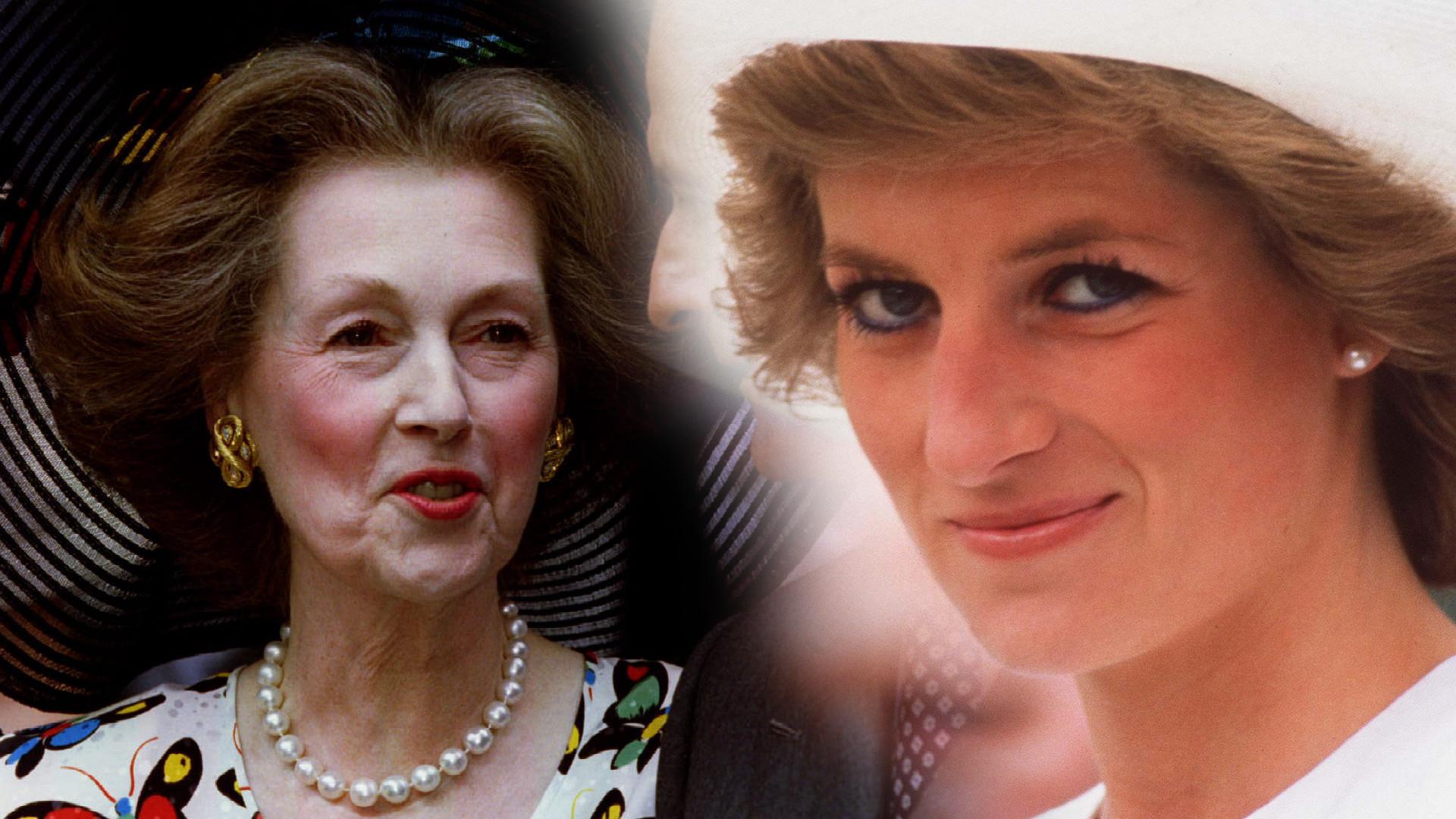 """Historia """"złej"""" macochy księżnej Diany. Lady Di zepchnęła ją ze schodów"""
