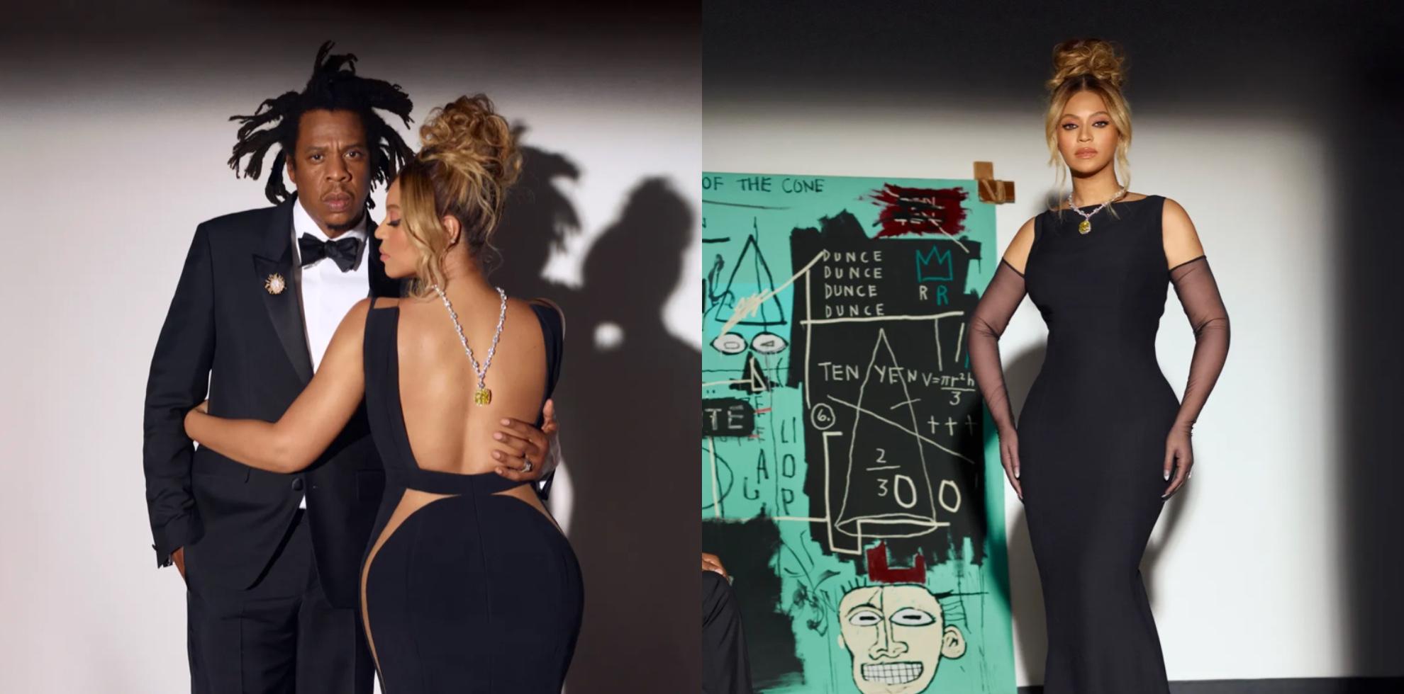 Beyoncé w ponad 128 karatowej brylantowej kolii