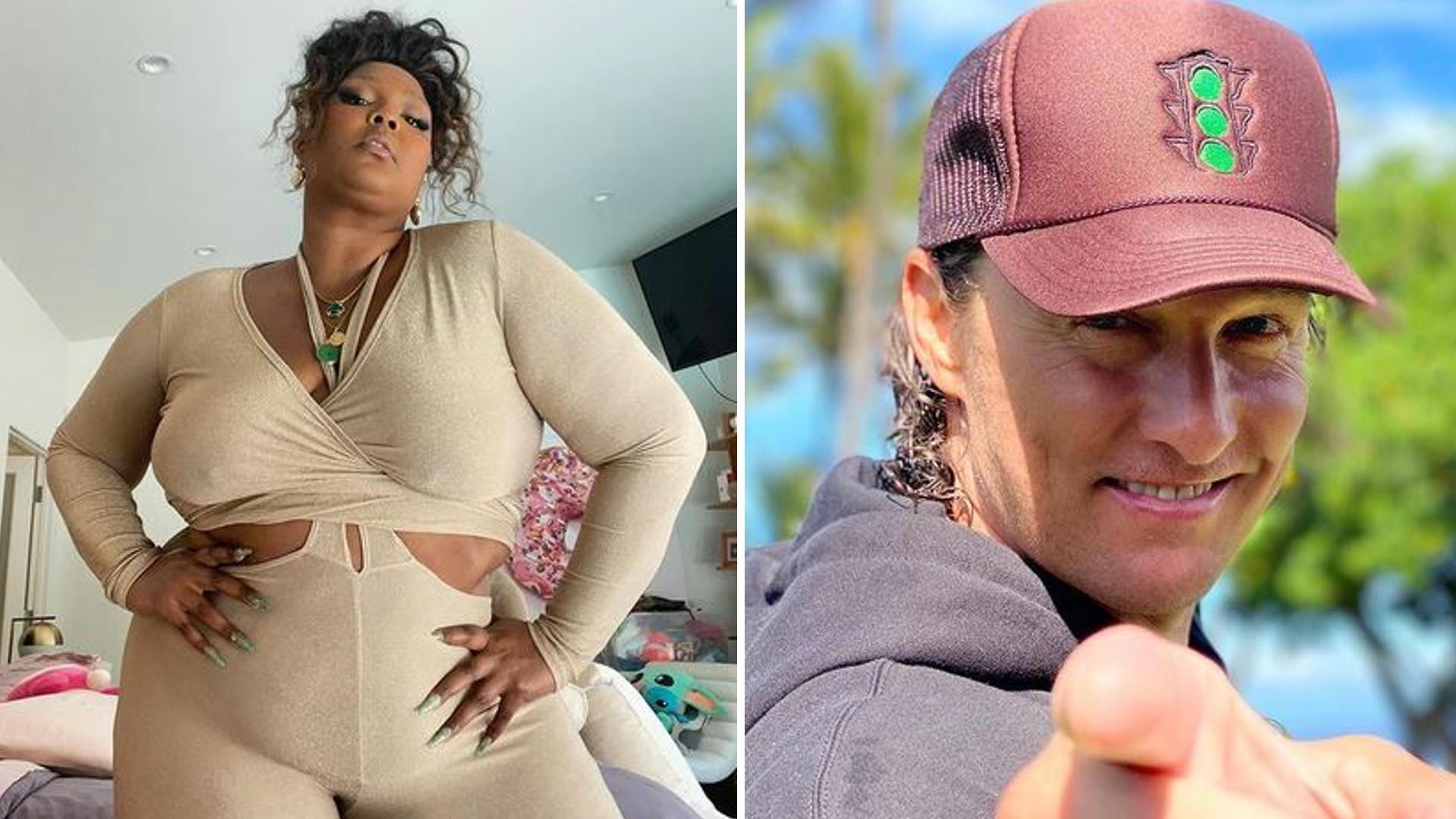 Lizzo i Matthew McConaughey to kolejne gwiazdy z dziwnymi nawykami higieny