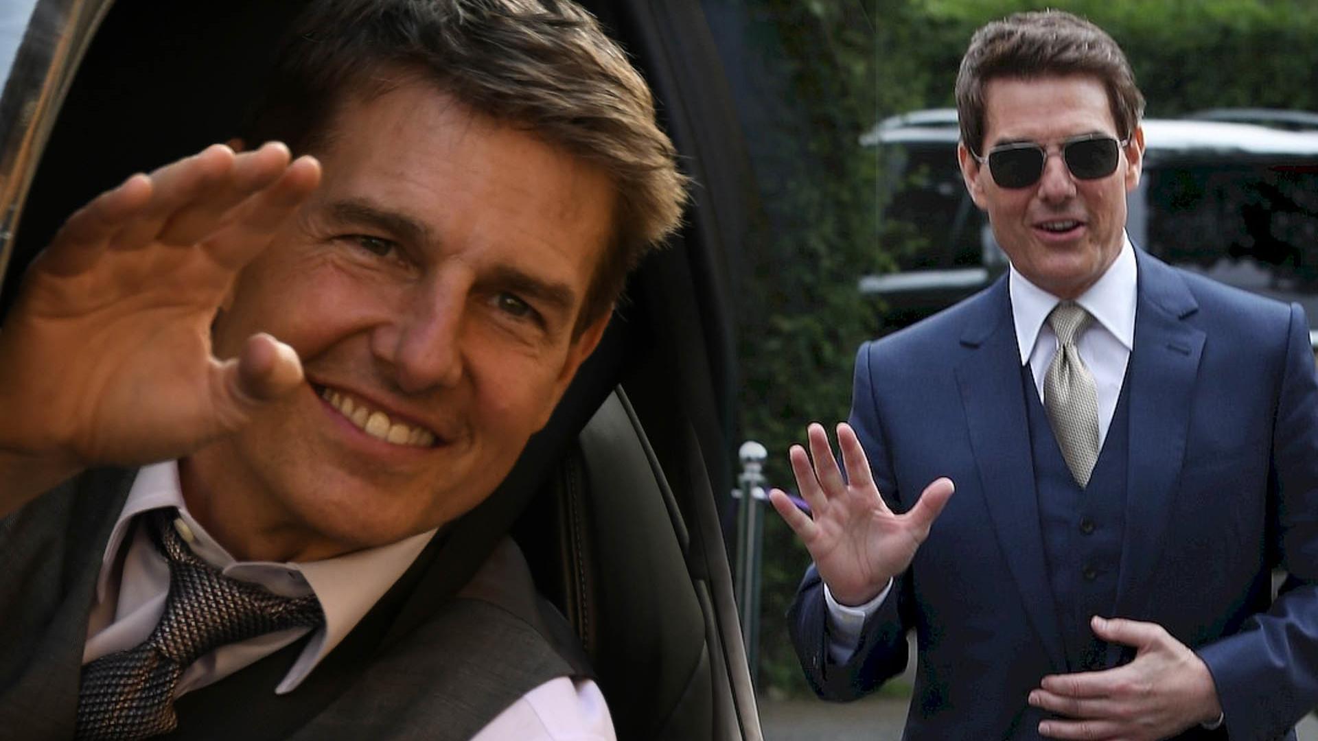 Tom Cruise wylądował swoim helikopterem u kogoś na podwórku