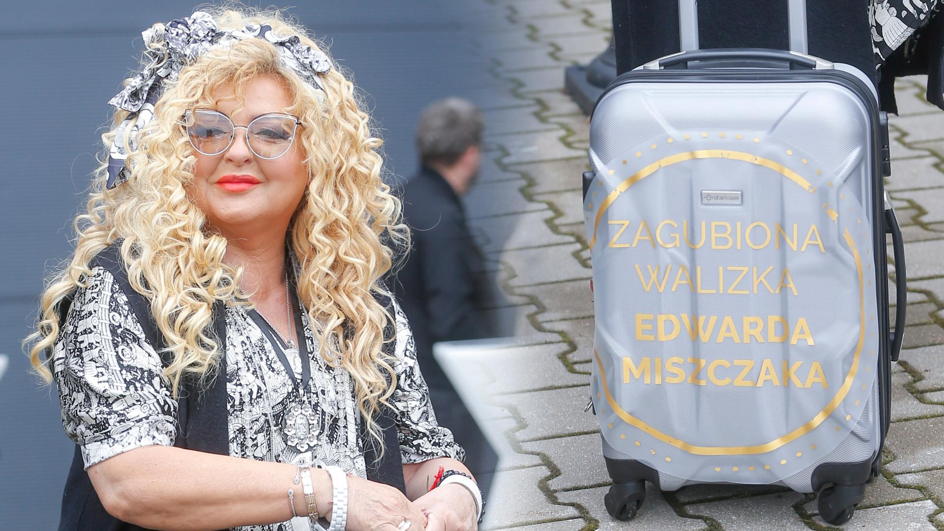 Magda Gessler na ramówkę TVN przybyła z WALIZKĄ – nie zgadniecie, co w niej było