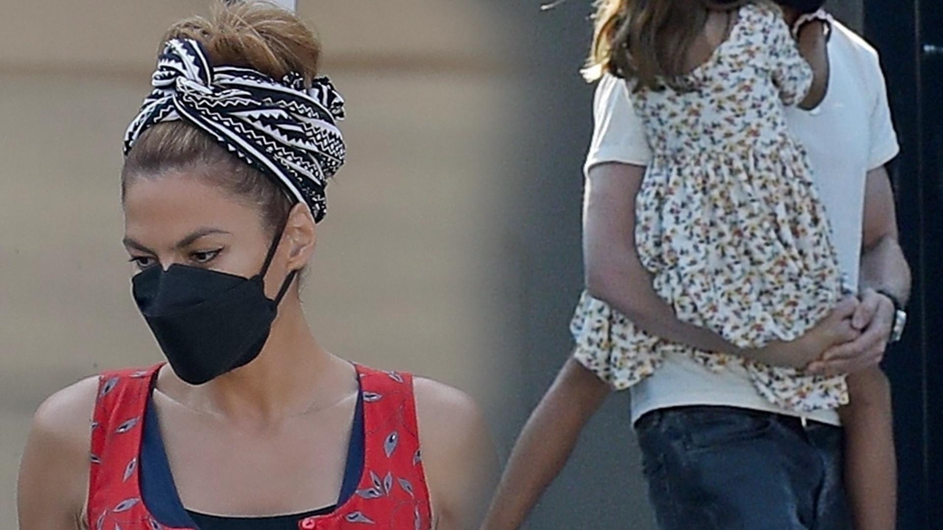 Eva Mendes i Ryan Gosling z córeczkami. Tego miejsca dzieci nie znoszą (ZDJĘCIA)