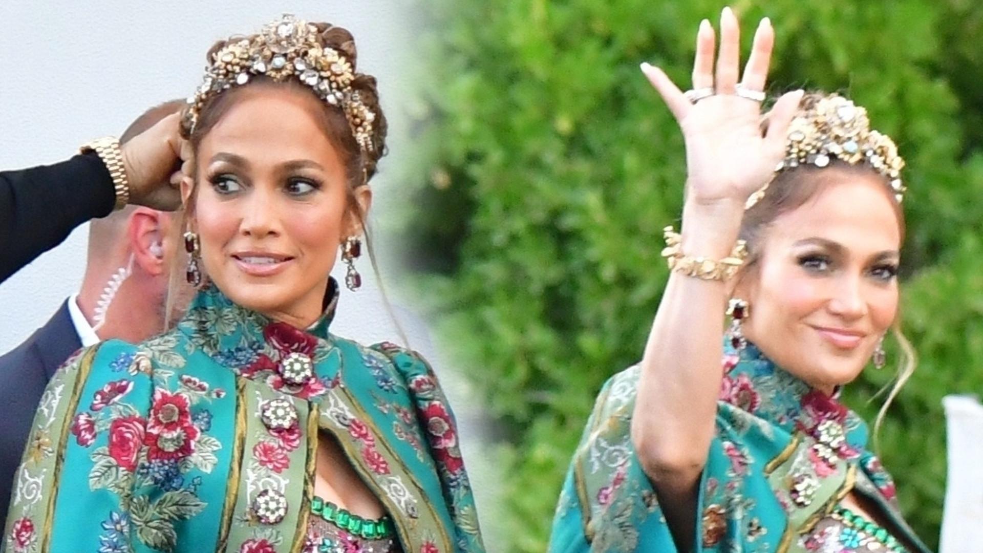 WOW! Jennifer Lopez na imprezie Dolce&Gabbana przypomniała wszystkim, dlaczego jest IKONĄ mody