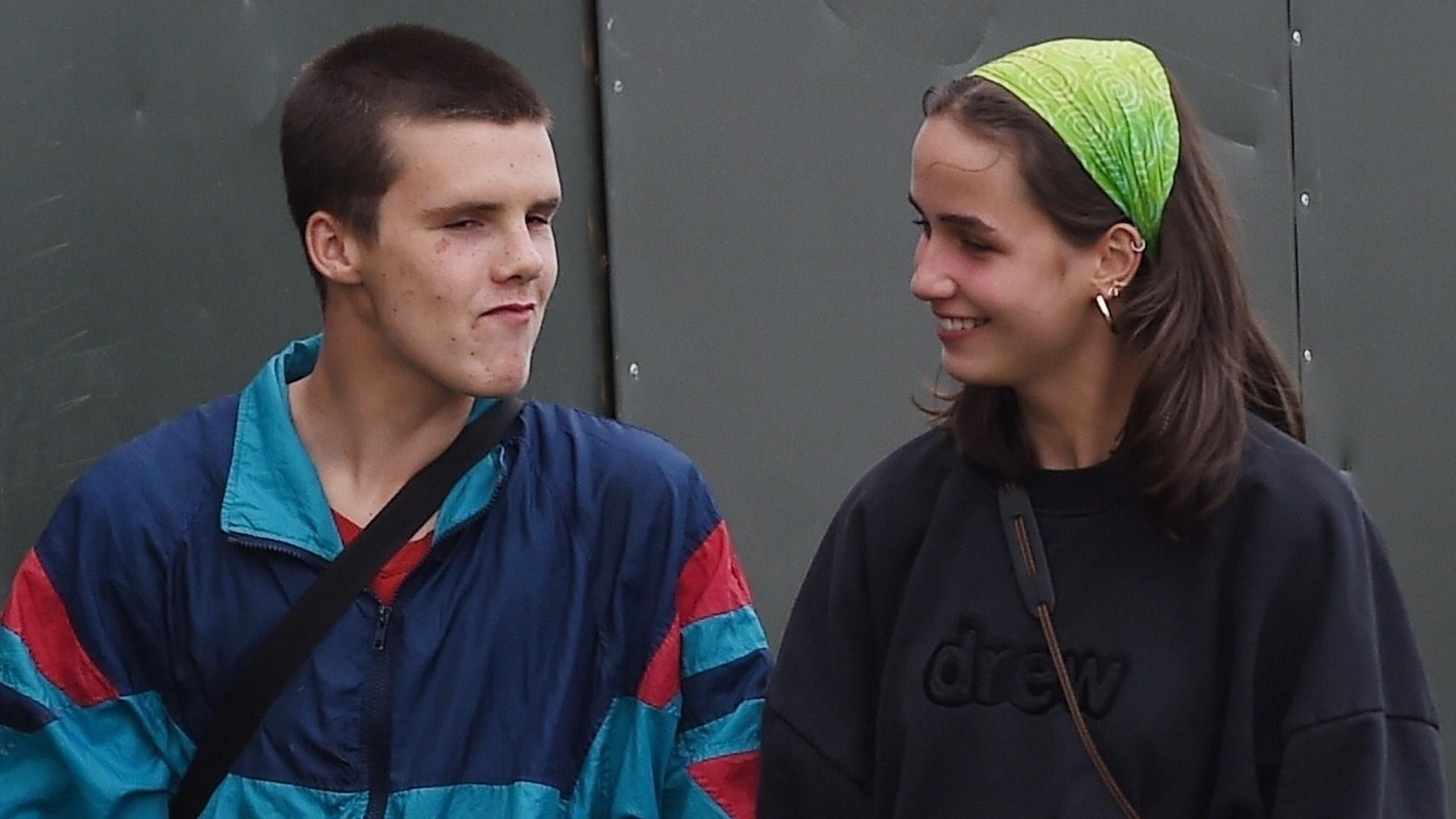 Cruz Beckham ma dziewczynę. Wielka Brytania oszalała na punkcie Bliss