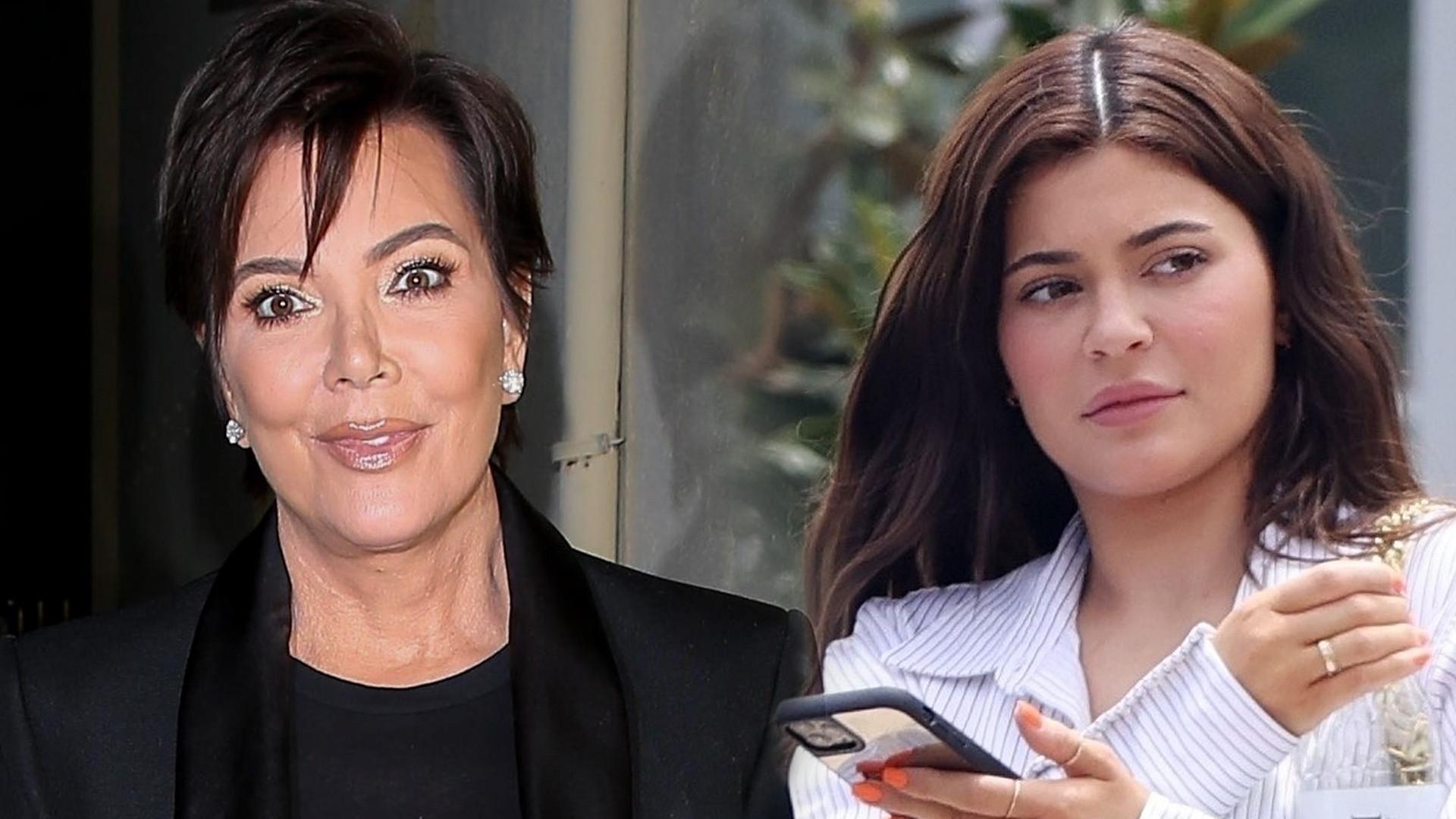 Kris Jenner nie była do końca zadowolona z drugiej CIĄŻY Kylie Jenner