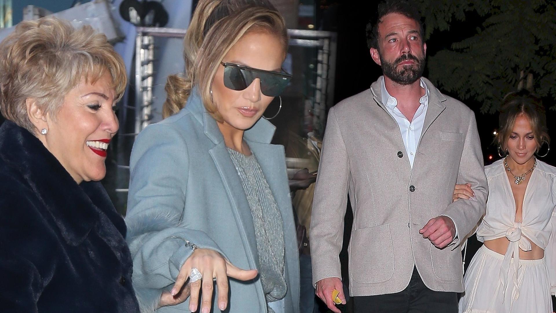 Zobacz matkę Jennifer Lopez grającą w reklamie Bena Afflecka
