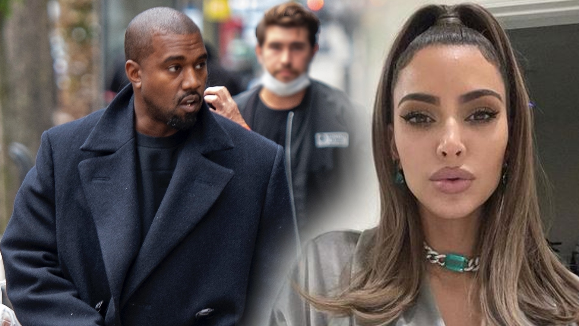 Kanye West przyznał się do zdrady Kim Kardashian. Kim była jego kochanka?